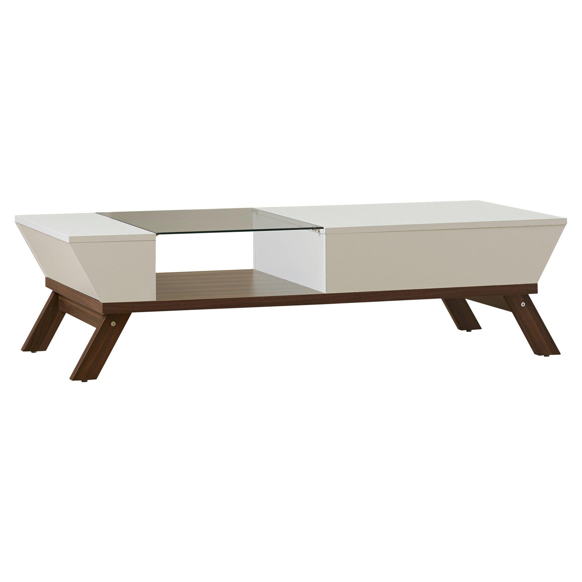 Mercury row coffee table reviews wayfairca for Wayfair coffee tables with storage