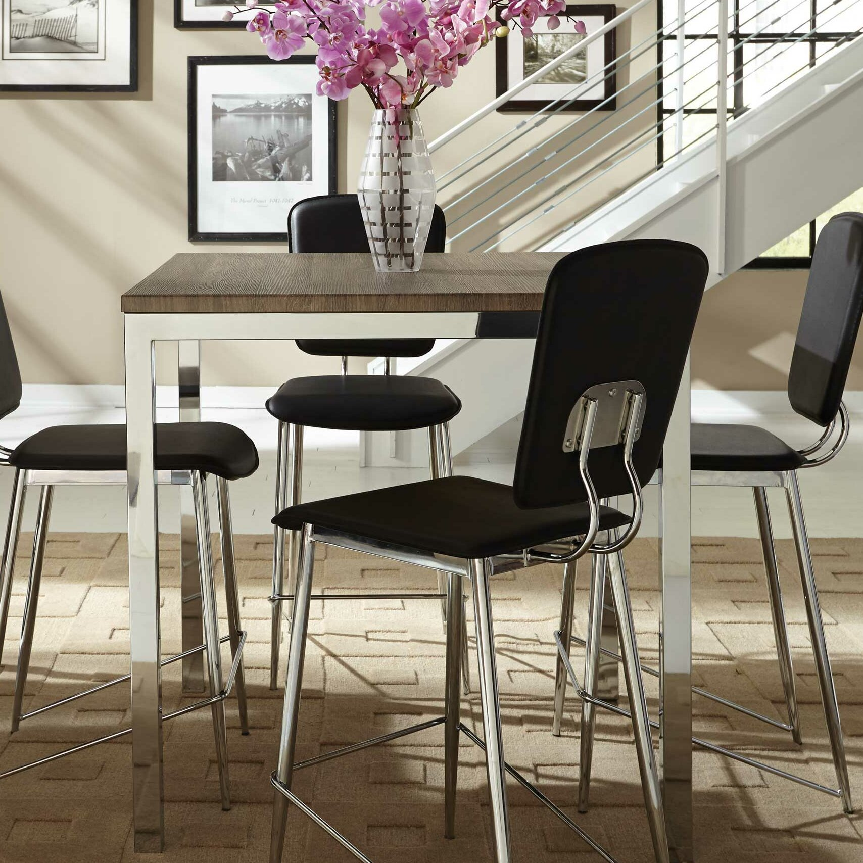 Mercury row alameda counter height dining table reviews for Wayfair dining table