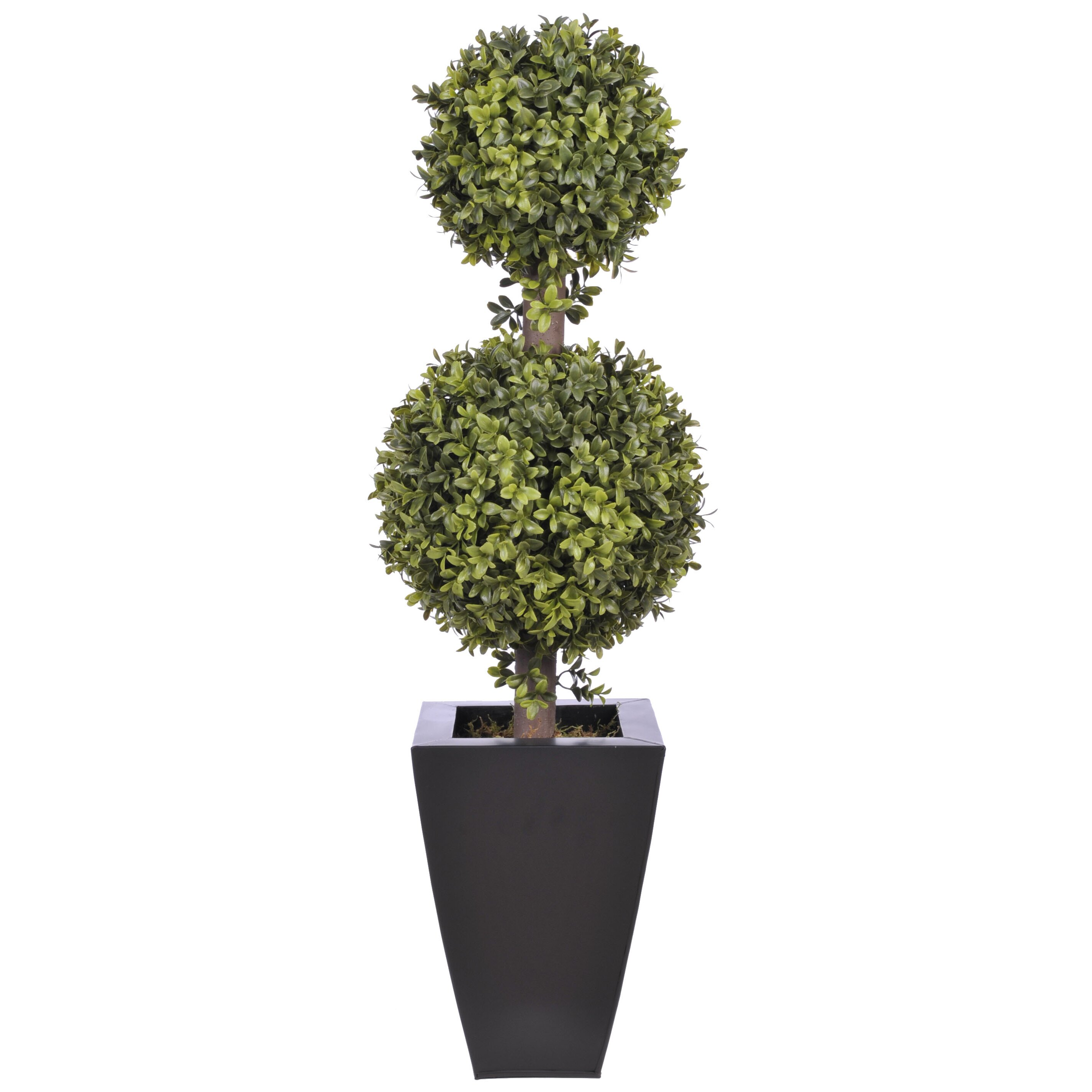 Mercury Row Artificial Double Ball Topiary In Pot