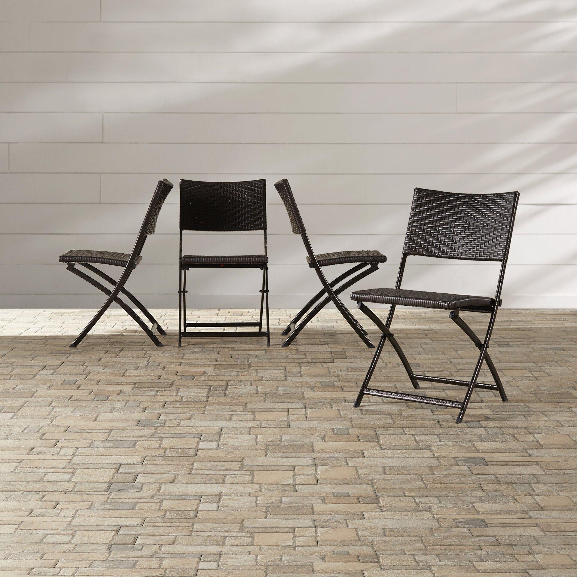 Mercury Row Kapteyn Folding Dining Side Chair Amp Reviews