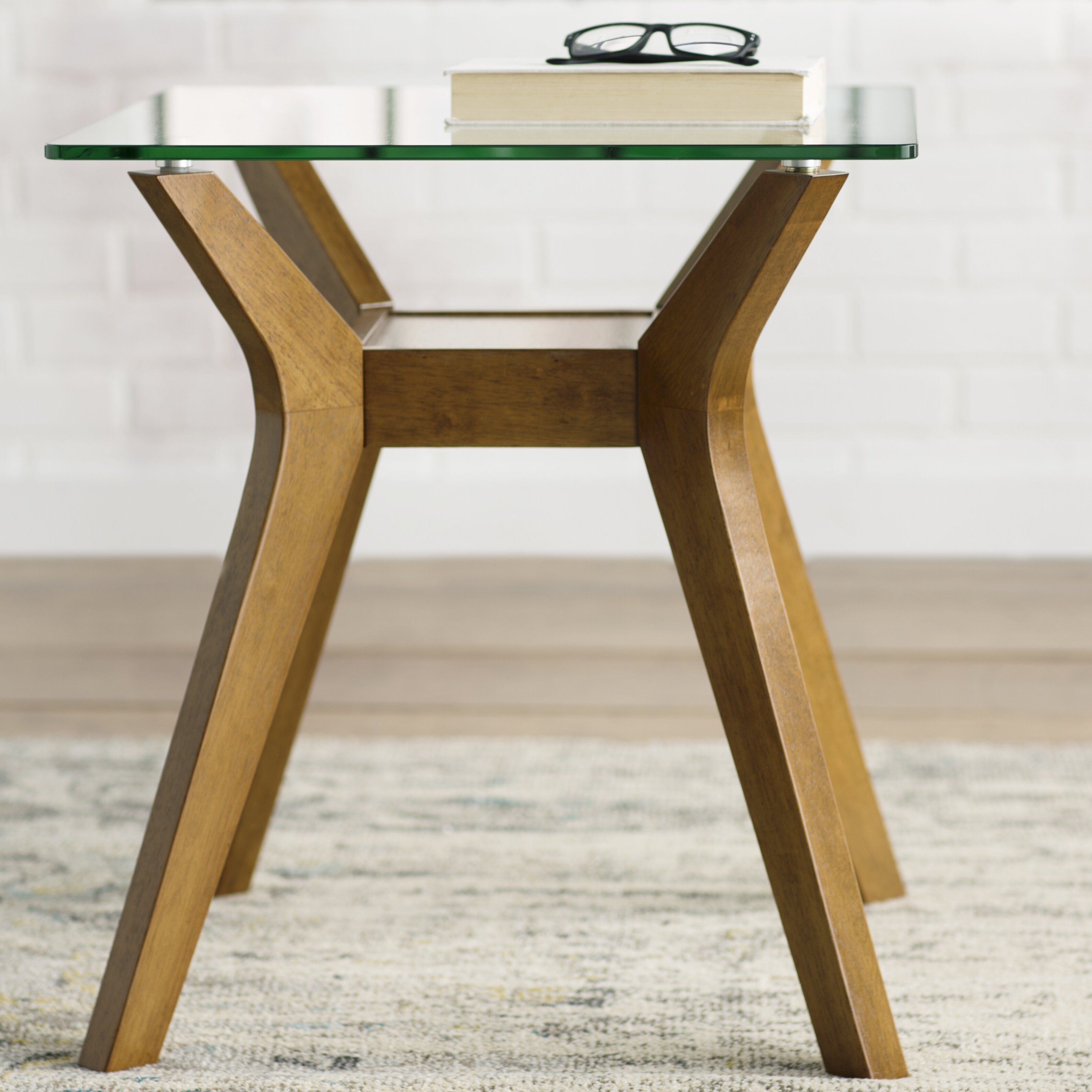 Mercury row aladfar end table reviews wayfair for Html table row