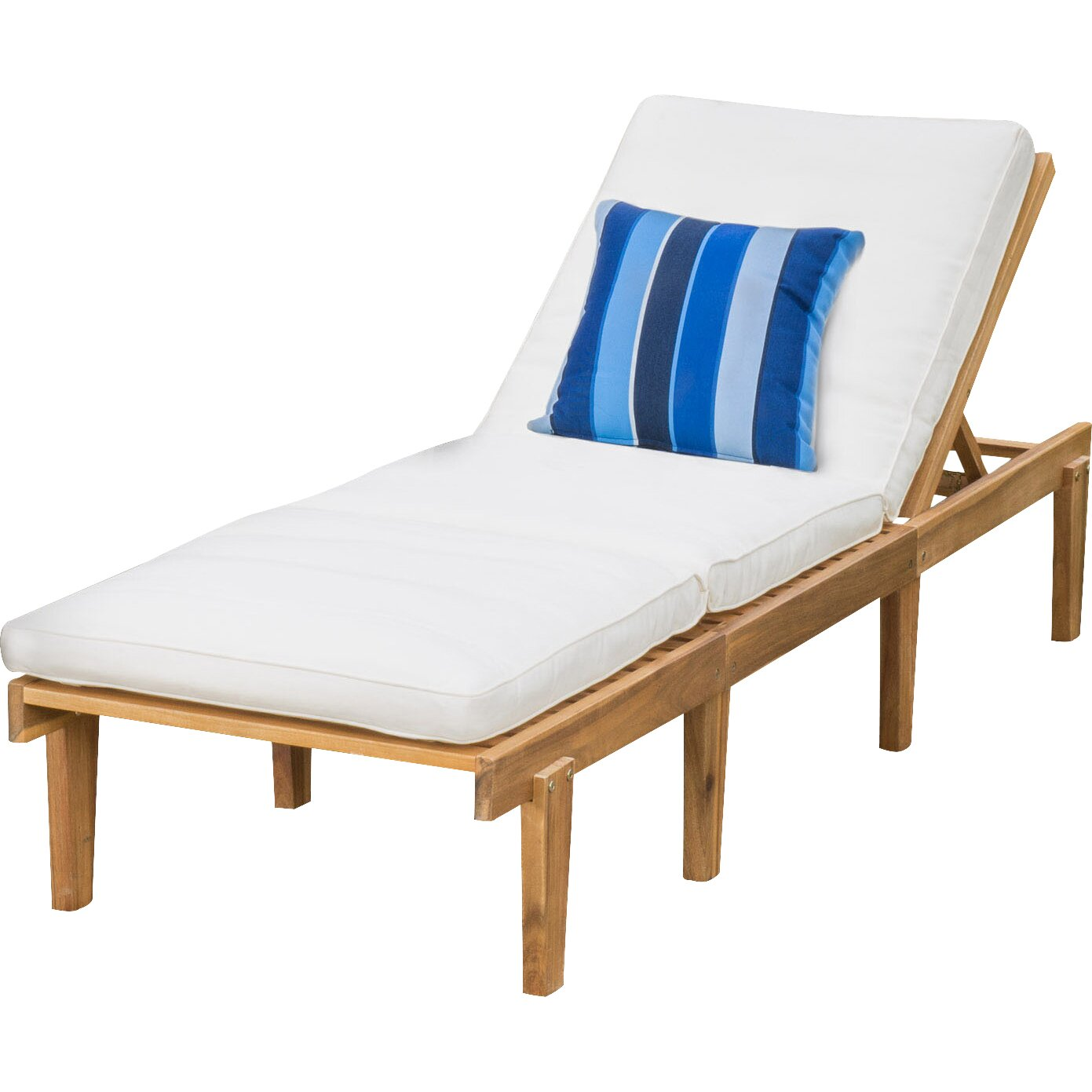 Mercury row ardsley chaise lounge with cushions reviews for Chaise lounge cushions