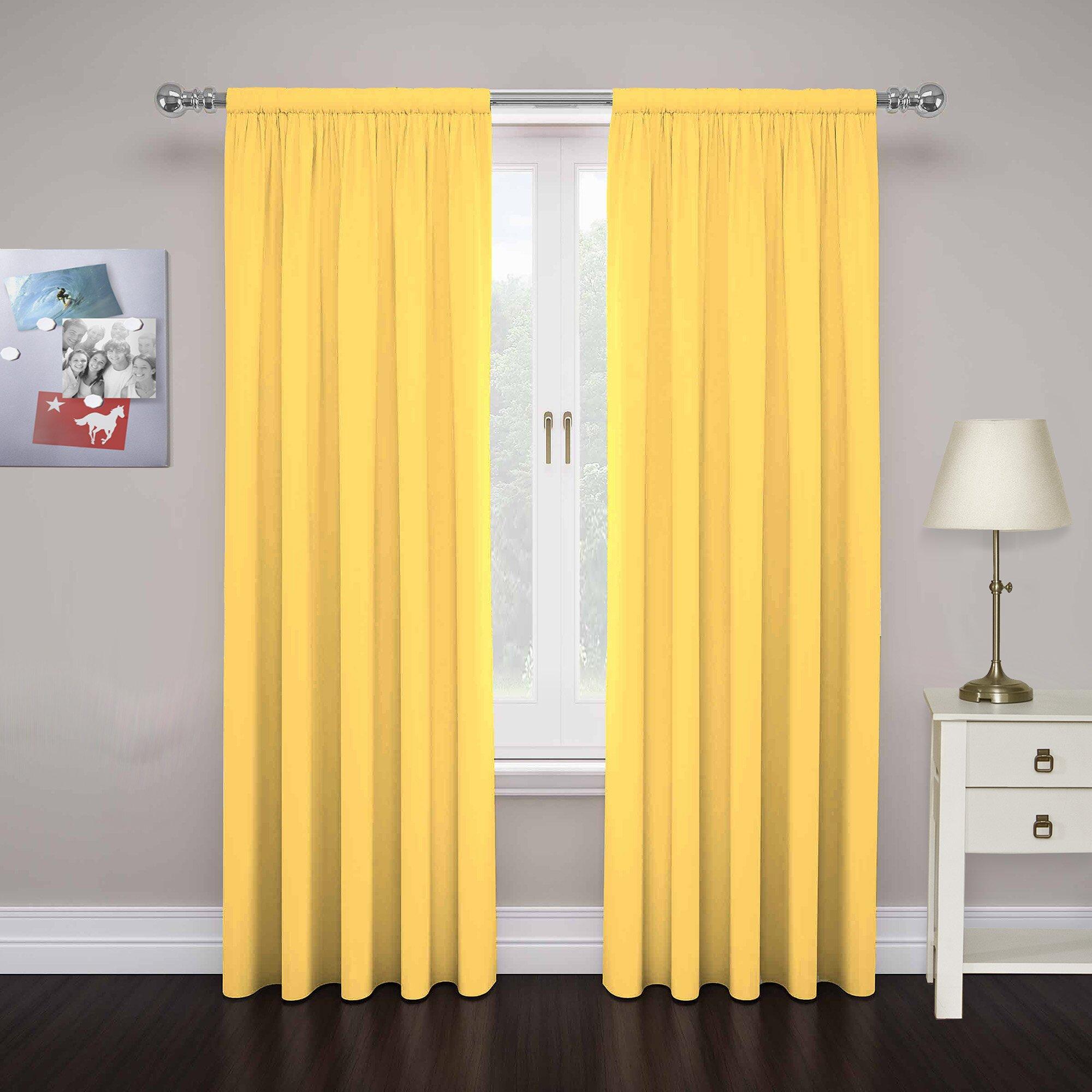 Mercury Row Abdera Curtain Panels Reviews Wayfair Supply