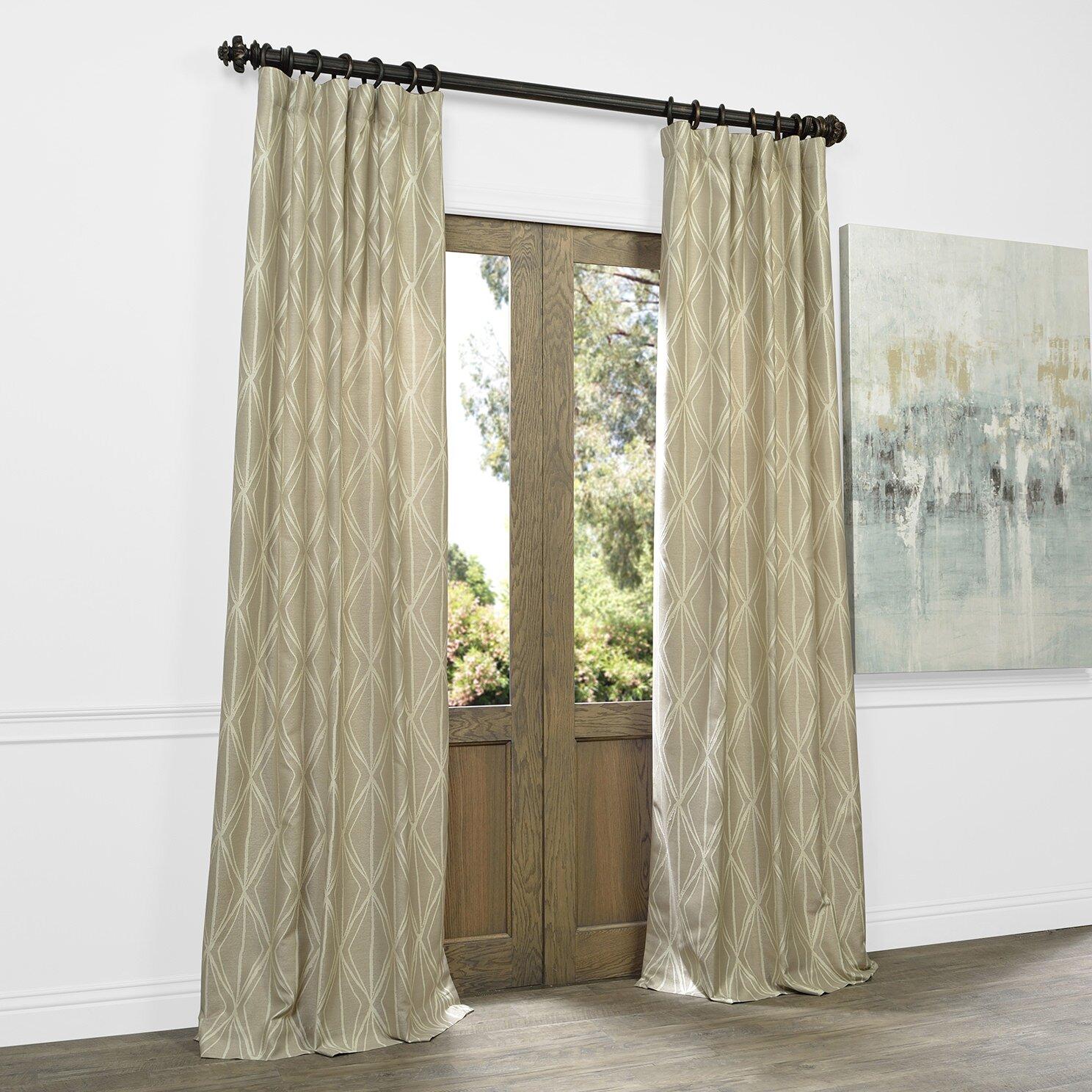 Mercury Row Alderamin Curtain Panels Wayfair
