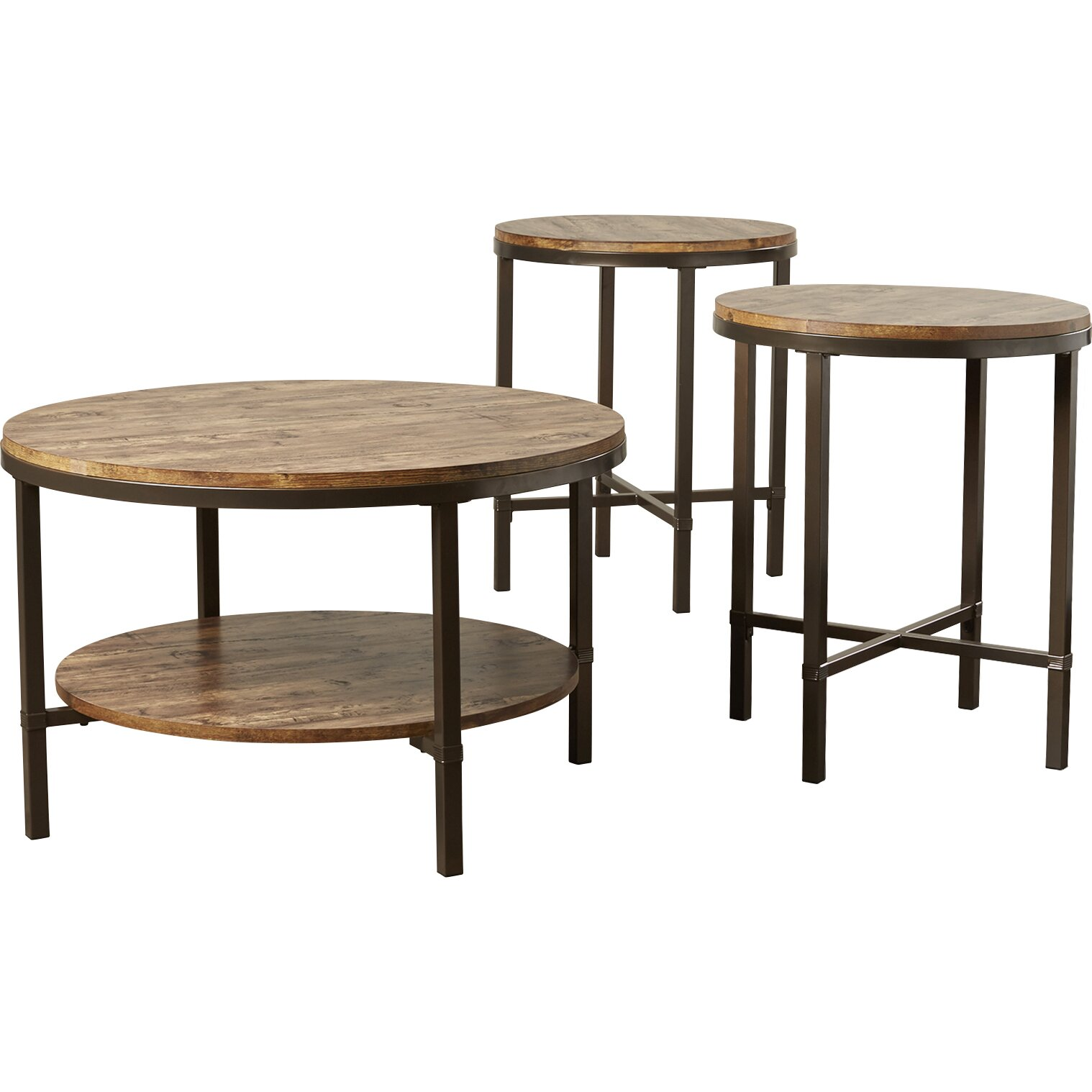 Mercury Row Absher Coffee Table Set & Reviews