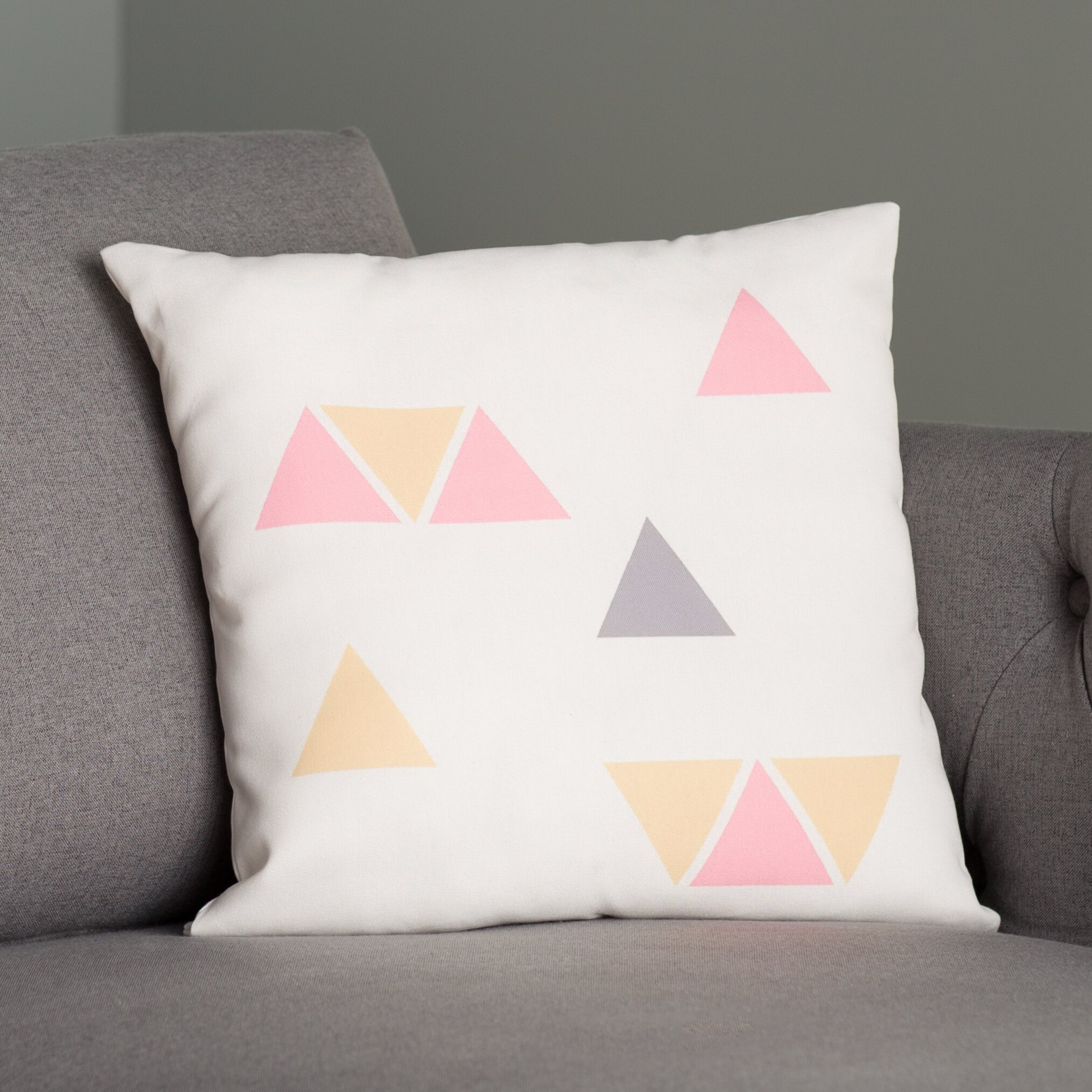 Throw Pillows In Abuja : Mercury Row Smetana Indoor/Outdoor Throw Pillow Wayfair