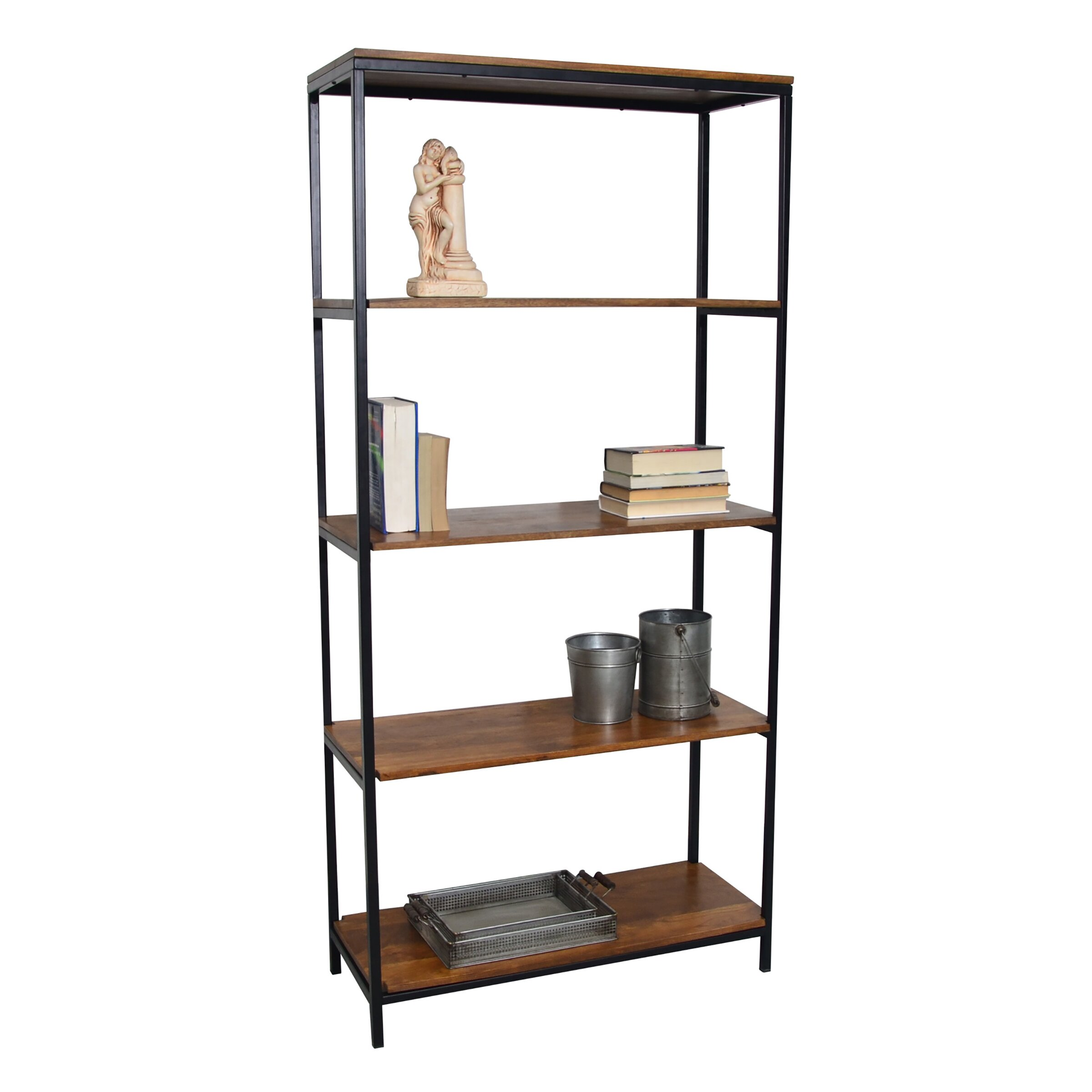 mercury row megan 72 etagere bookcase reviews wayfair. Black Bedroom Furniture Sets. Home Design Ideas