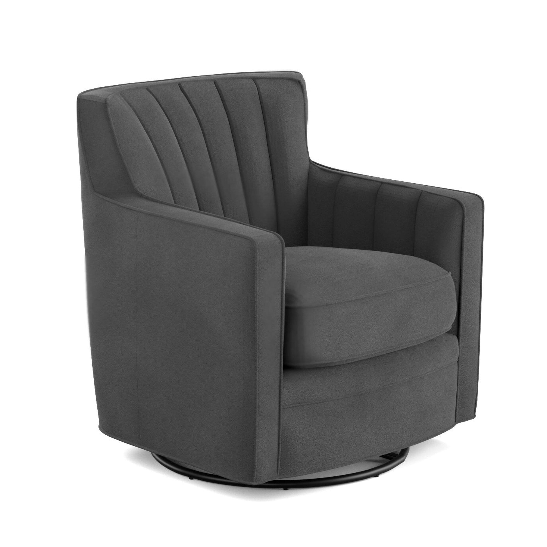 Mercury Row Bleadon Swivel Arm Chair Amp Reviews Wayfair