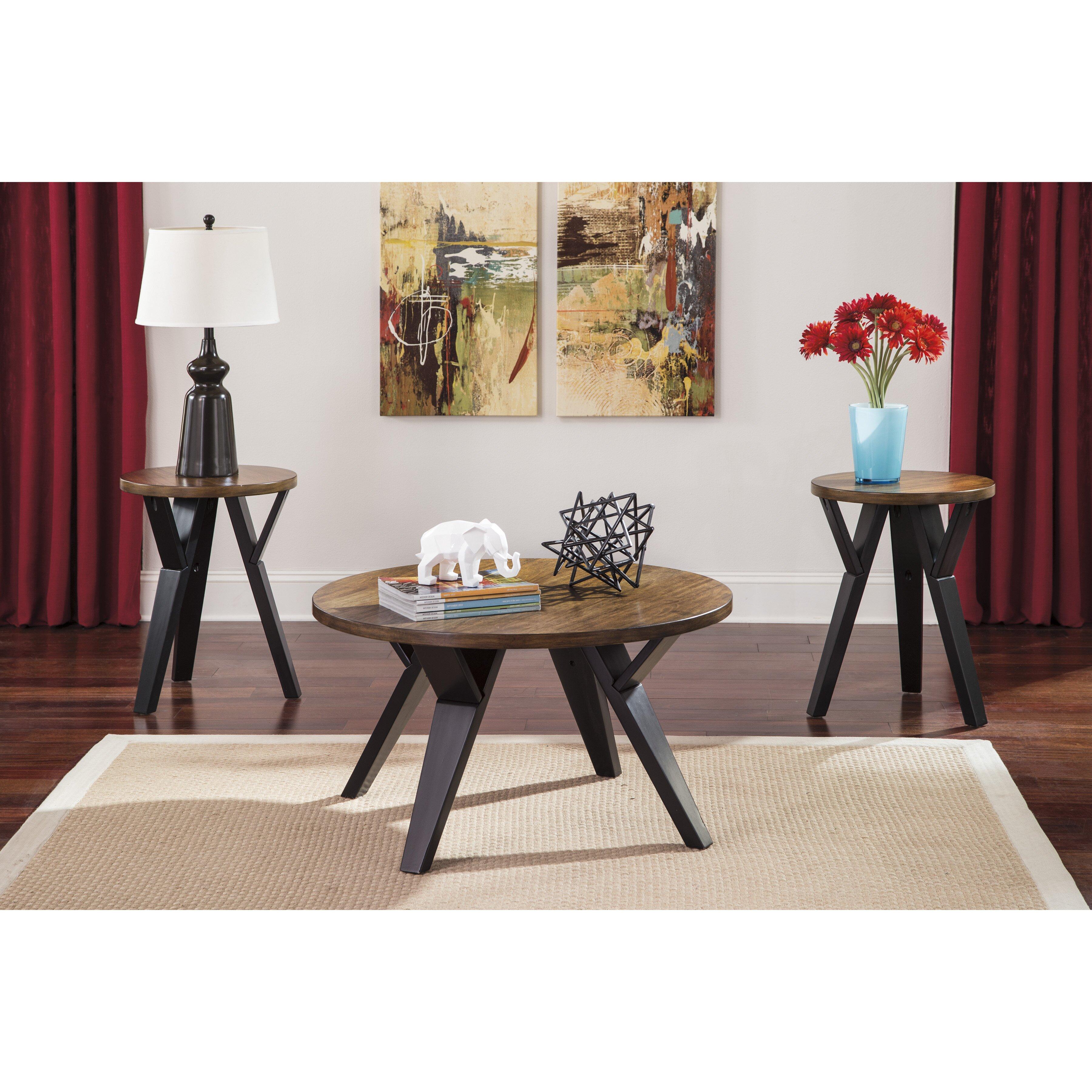 Mercury Row Sliva 3 Piece Coffee Table Set Reviews
