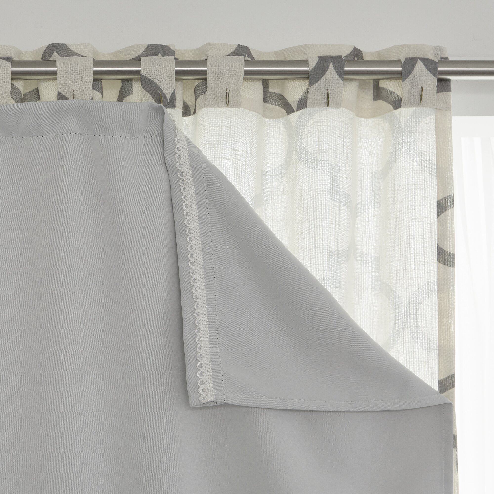 Best Home Fashion, Inc. Blackout Curtain Liner & Reviews