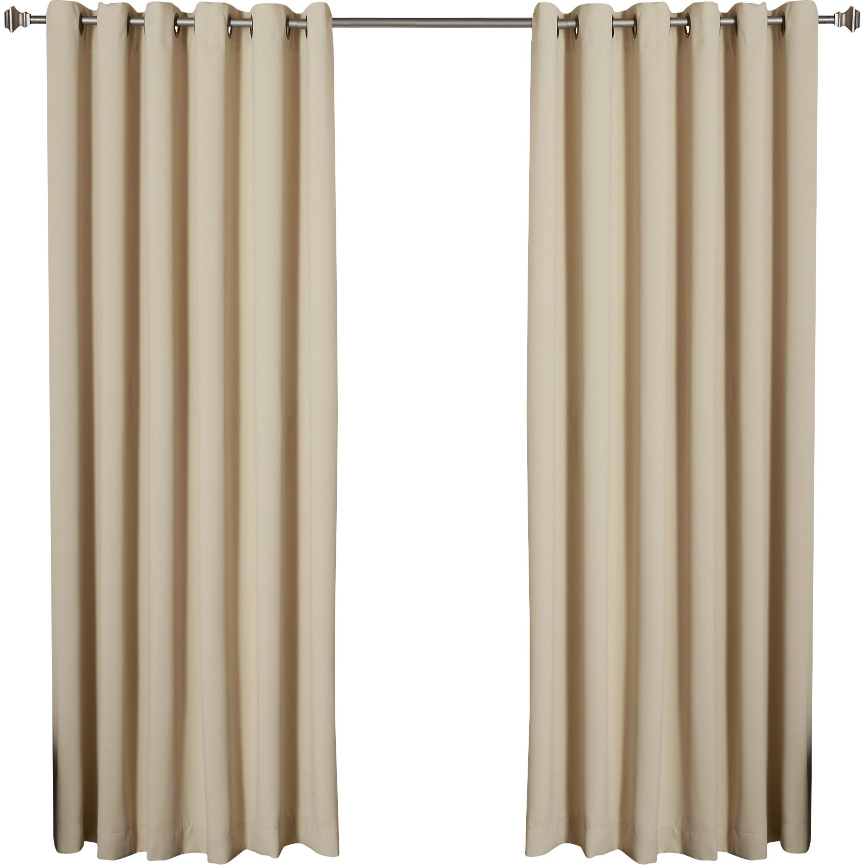 ... Width Thermal Blackout Single Curtain Panel by Best Home Fashion, Inc