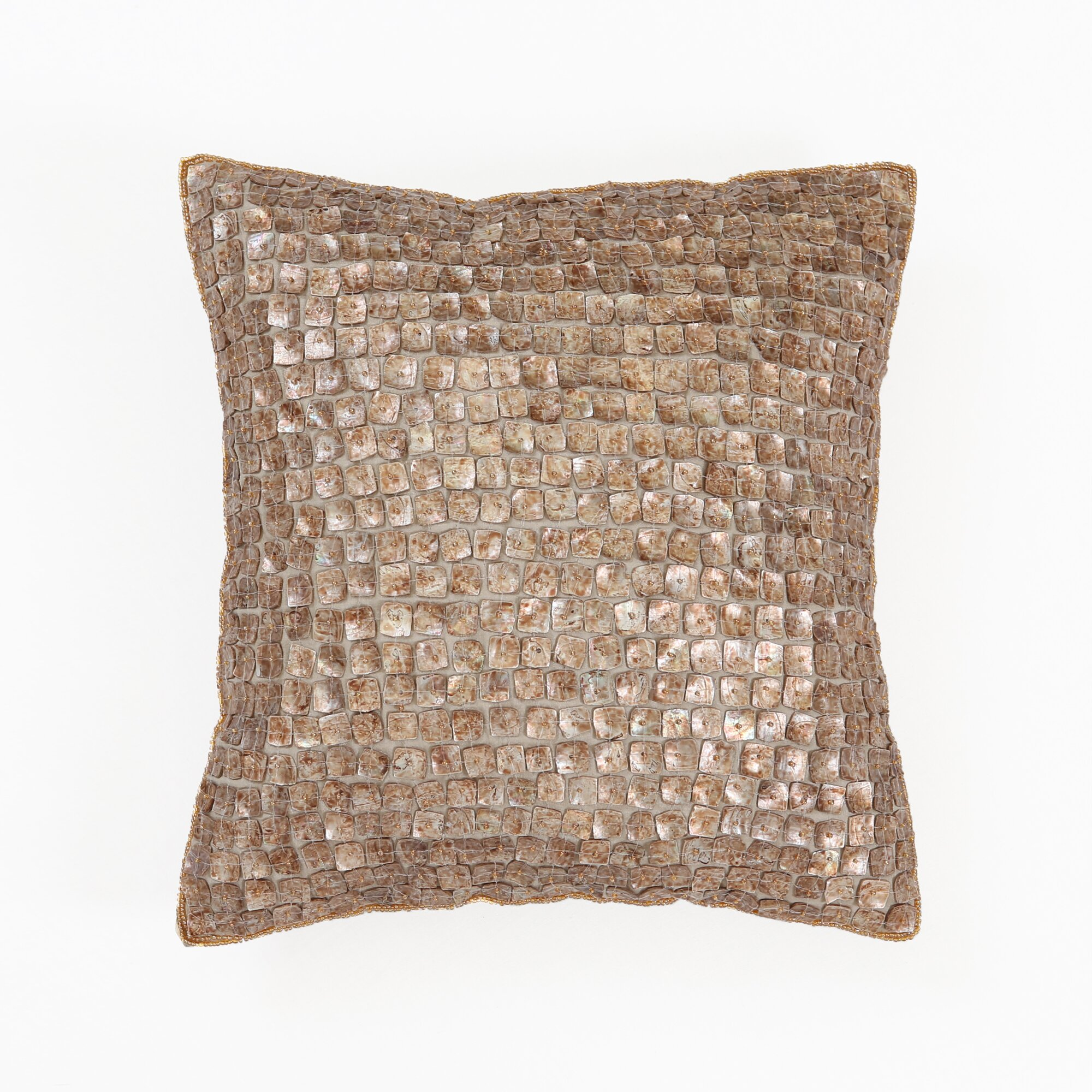 King Mother Of Pearl Headboard By The Yard: Best Home Fashion, Inc. Mother Of Pearl Pillow Cover
