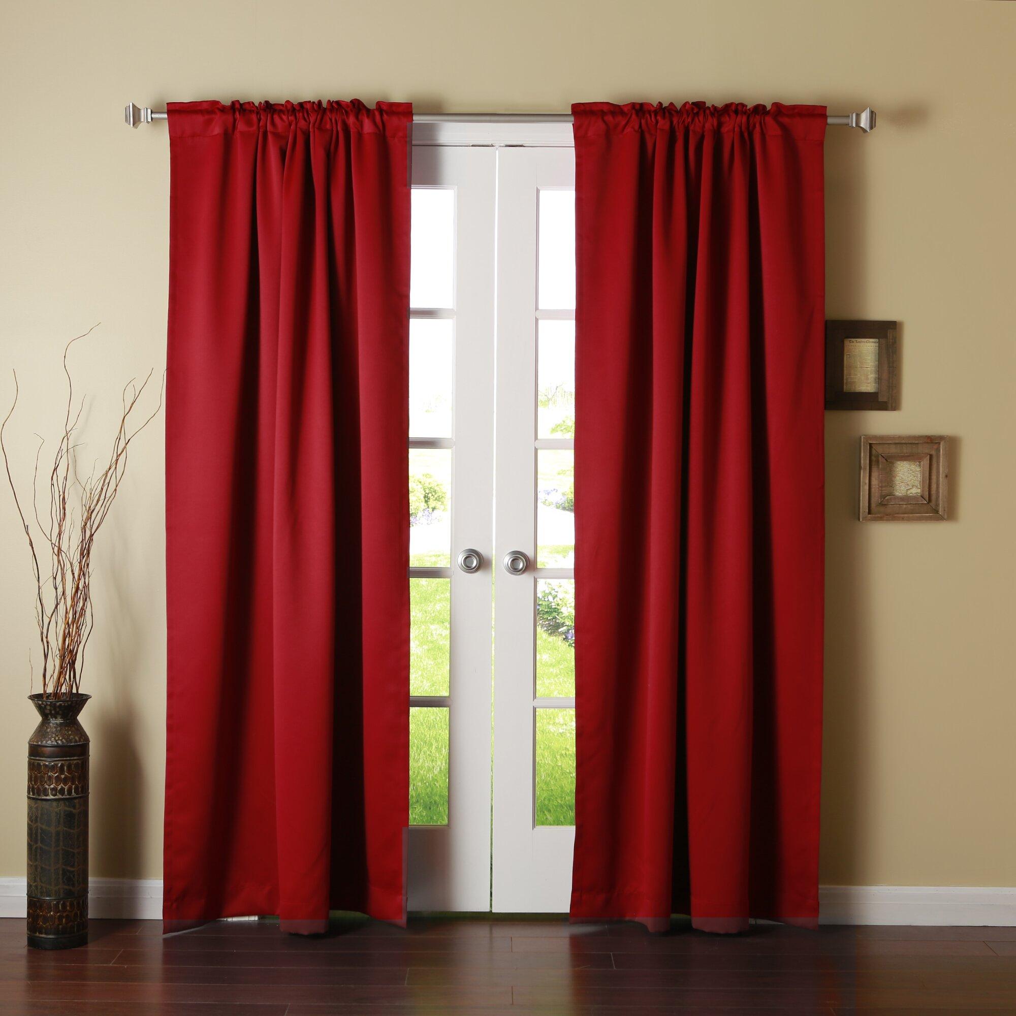 best home fashion inc blackout thermal curtain panels. Black Bedroom Furniture Sets. Home Design Ideas