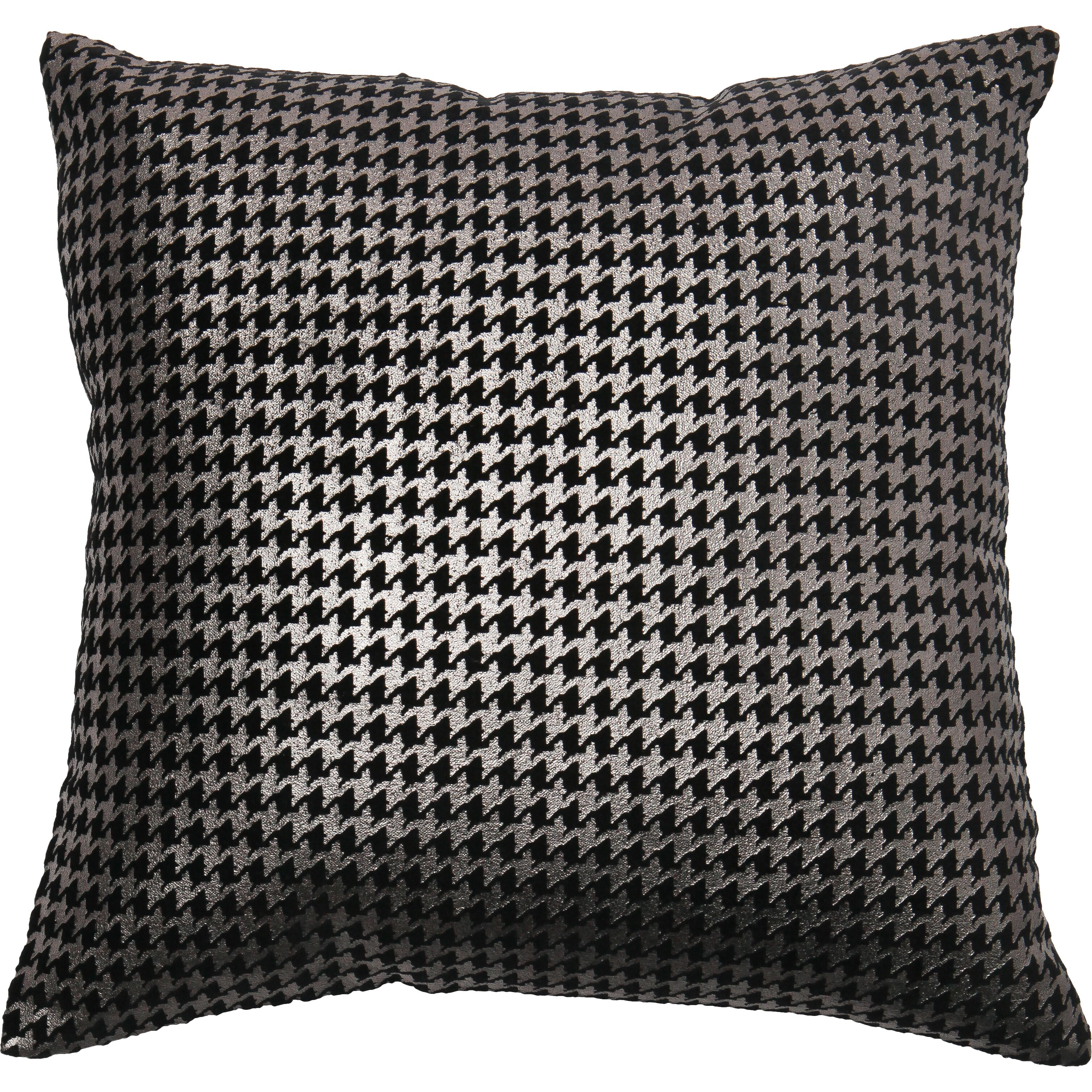 Best Throw Pillow Covers : Best Home Fashion, Inc. Houndstooth Throw Pillow Cover Wayfair