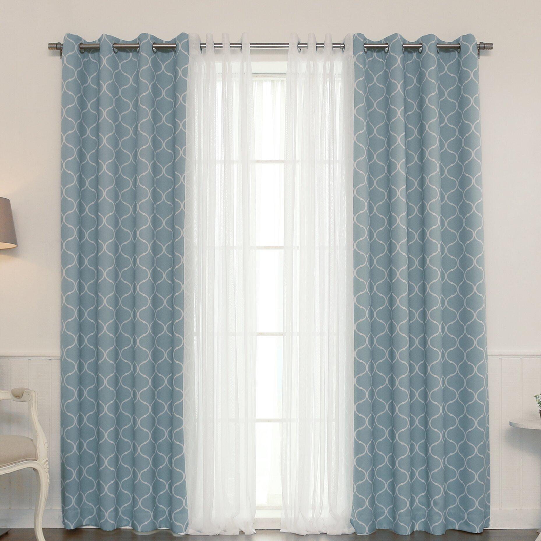Best Home Fashion Inc Mix Match Curtain Panel Wayfair