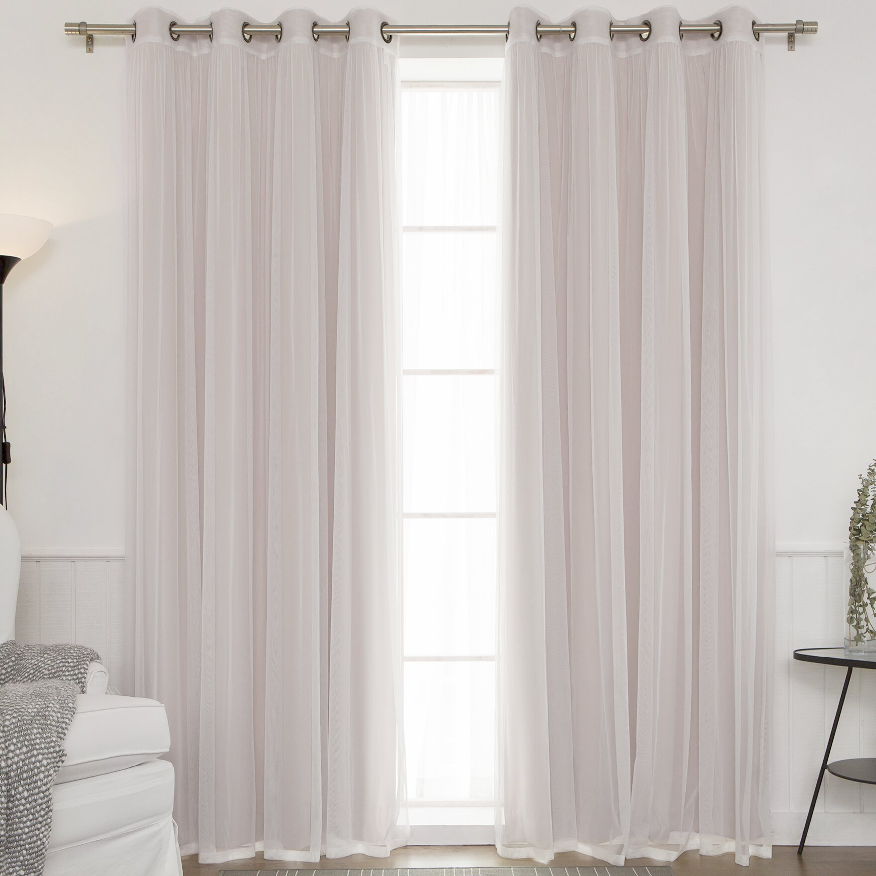 Best Home Fashion Inc Mix Match Indoor Blackout And