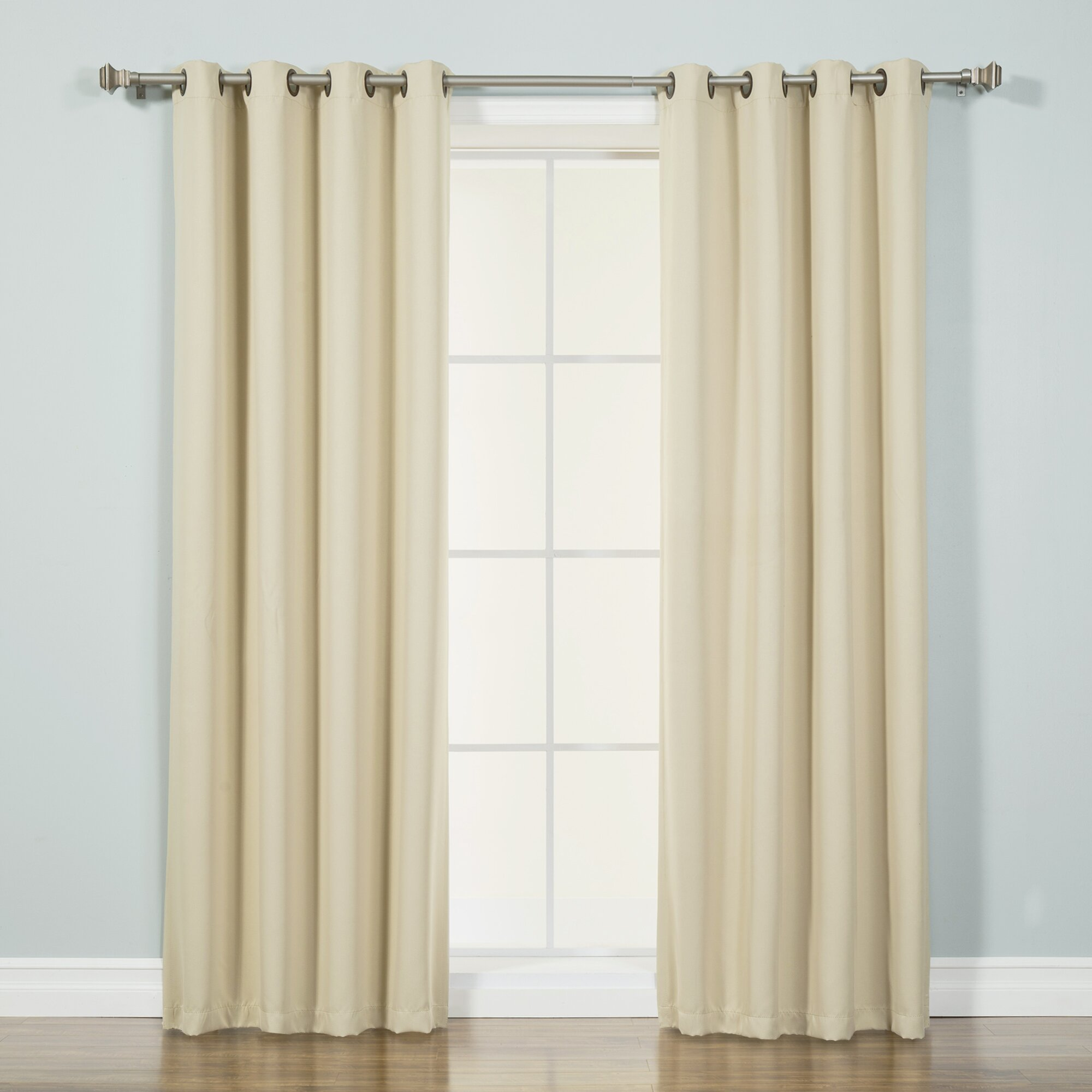 Best home fashion inc basic blackout thermal curtain for Home curtains