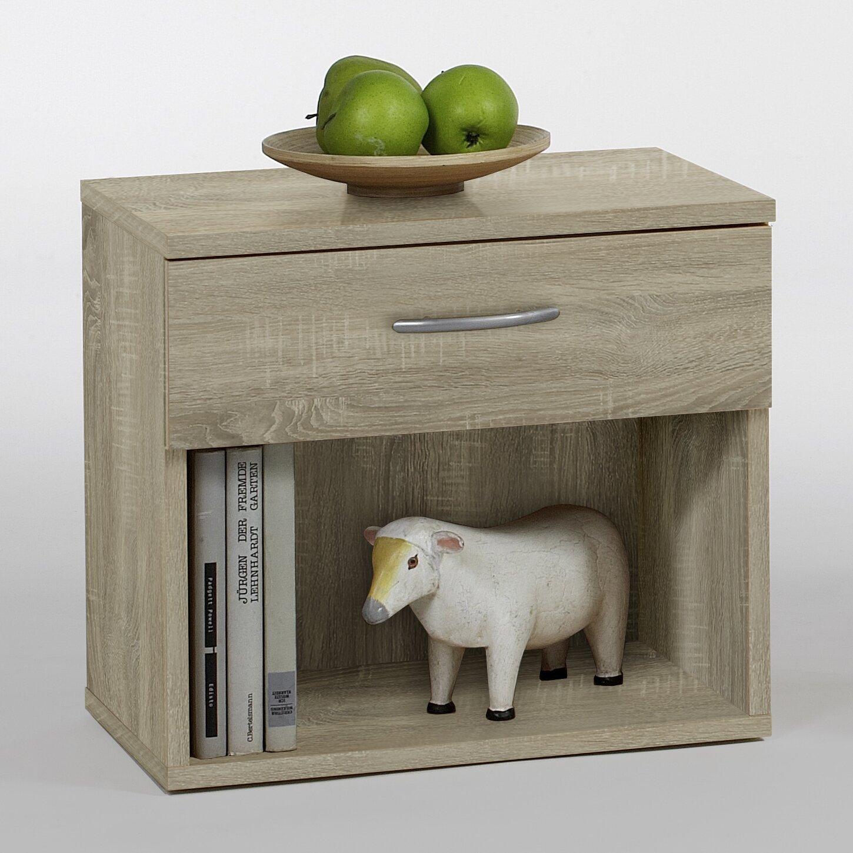 wayfair basics nachttisch mit schublade bewertungen. Black Bedroom Furniture Sets. Home Design Ideas