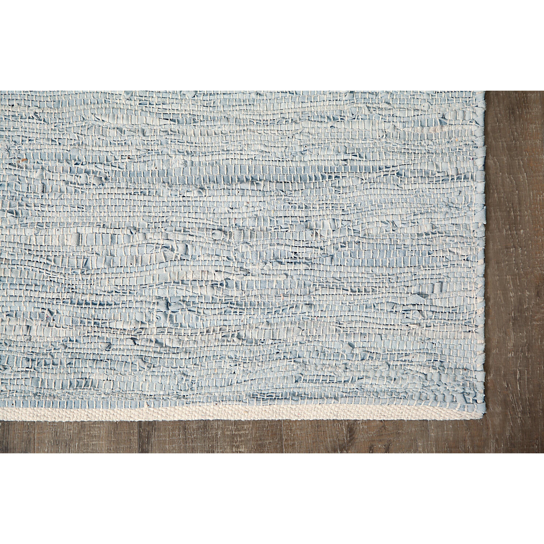 Anji Mountain Ridgeview Ranch Hand Woven Pale Blue White
