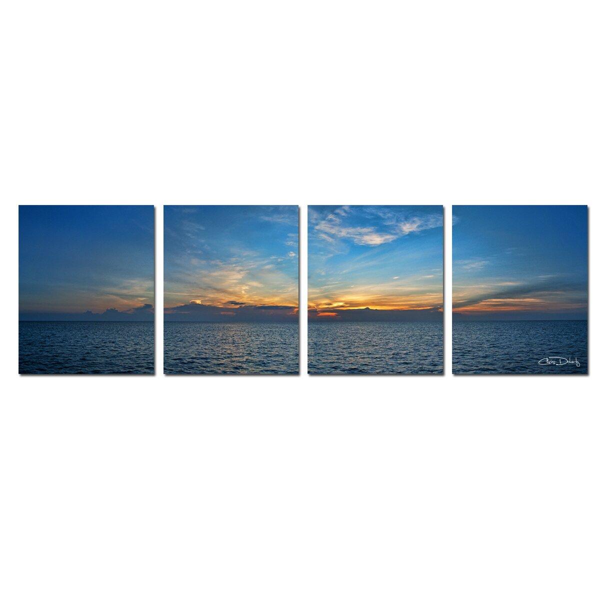 Ready2hangart Bahamas Sunset By Christopher Doherty 4
