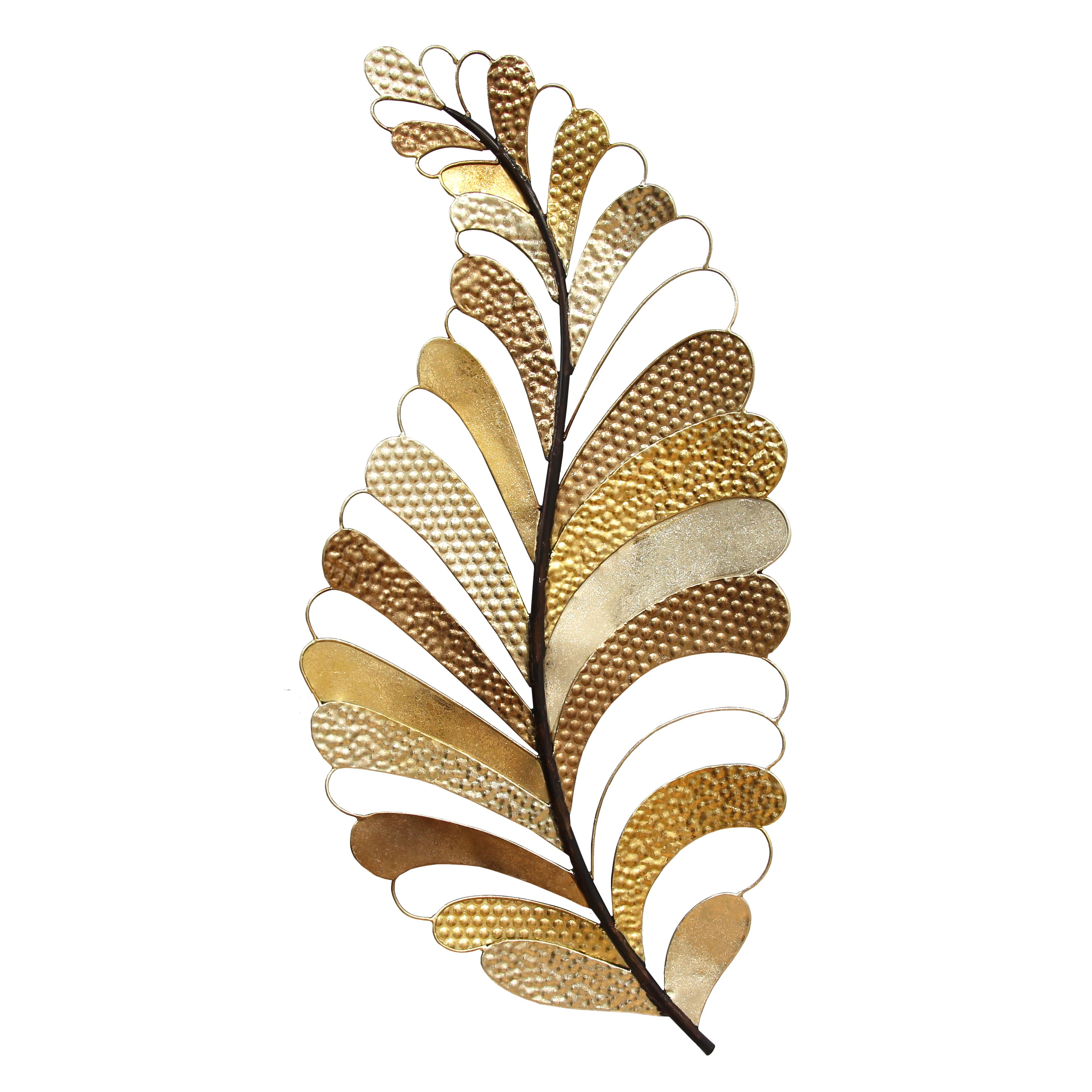 Stratton home decor leaf wall decor reviews wayfair for Leaf wall decor