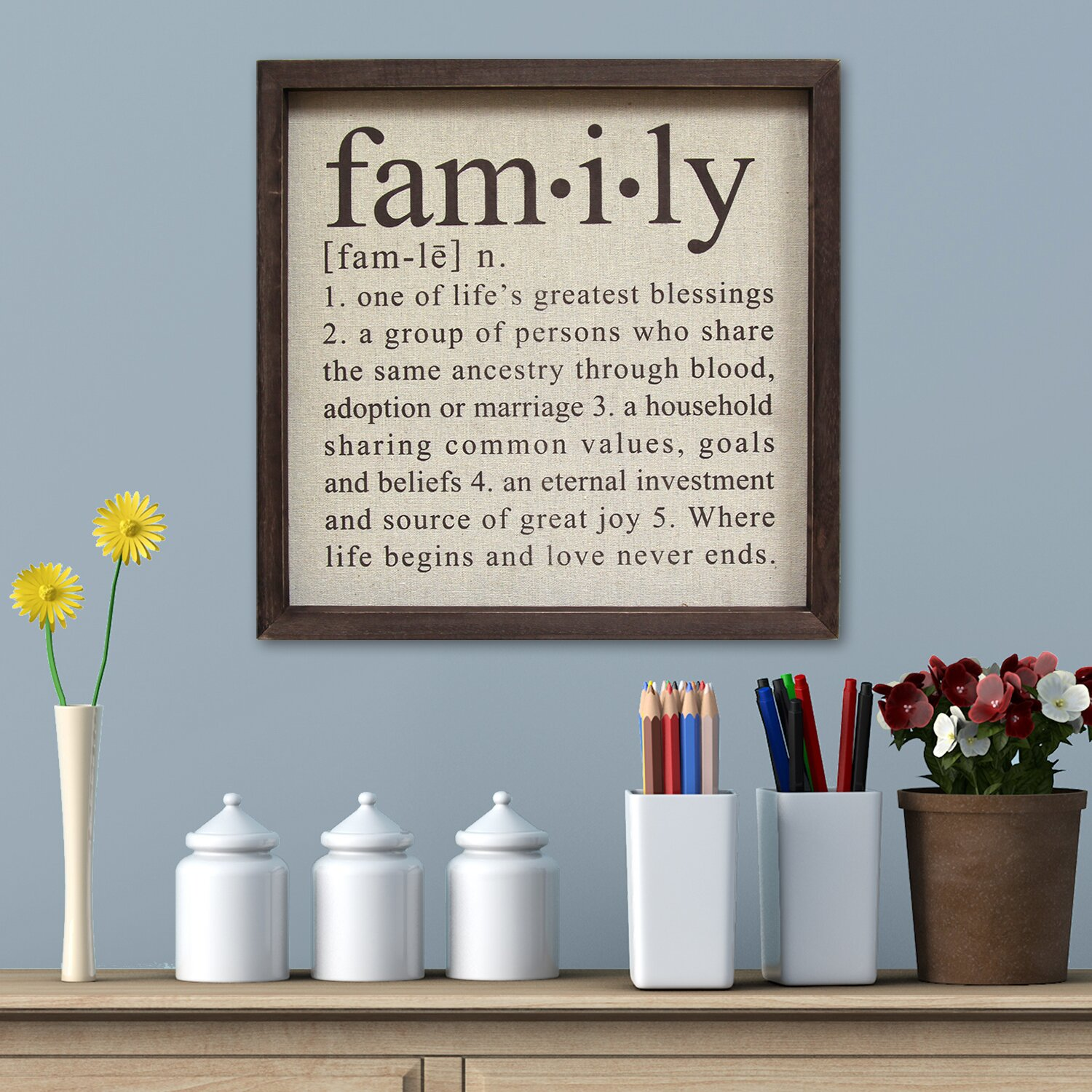 Wall Decoration Definition : Stratton home decor definition of family wall d?cor
