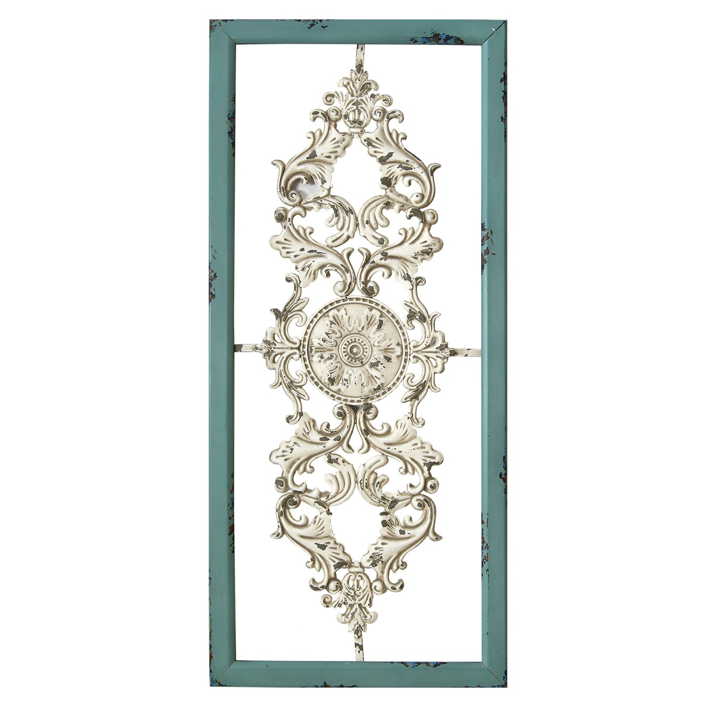 Antique Scroll Art: Stratton Home Decor Scroll Panel Wall Décor & Reviews