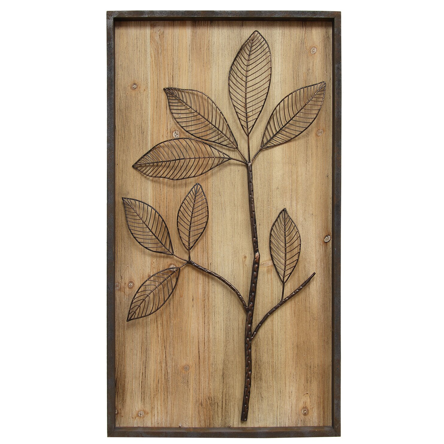 Stratton Home Decor Rustic Branch Wall D Cor Reviews