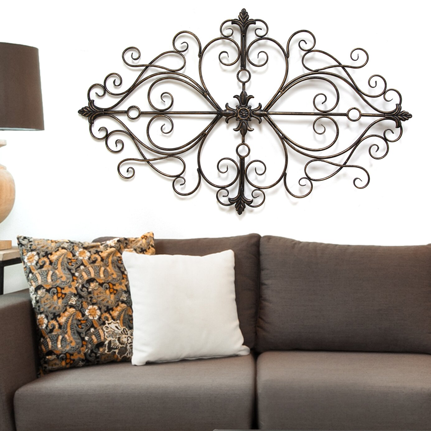 Stratton Home Decor Traditional Scroll Wall Décor ...