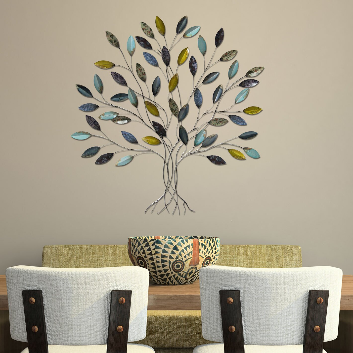 Stratton Home Decor Tree Wall D Cor Reviews