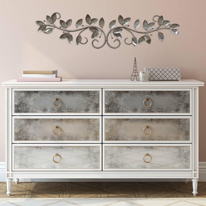 Stratton Home Decor Floral Scroll Wall D Cor Reviews Wayfair