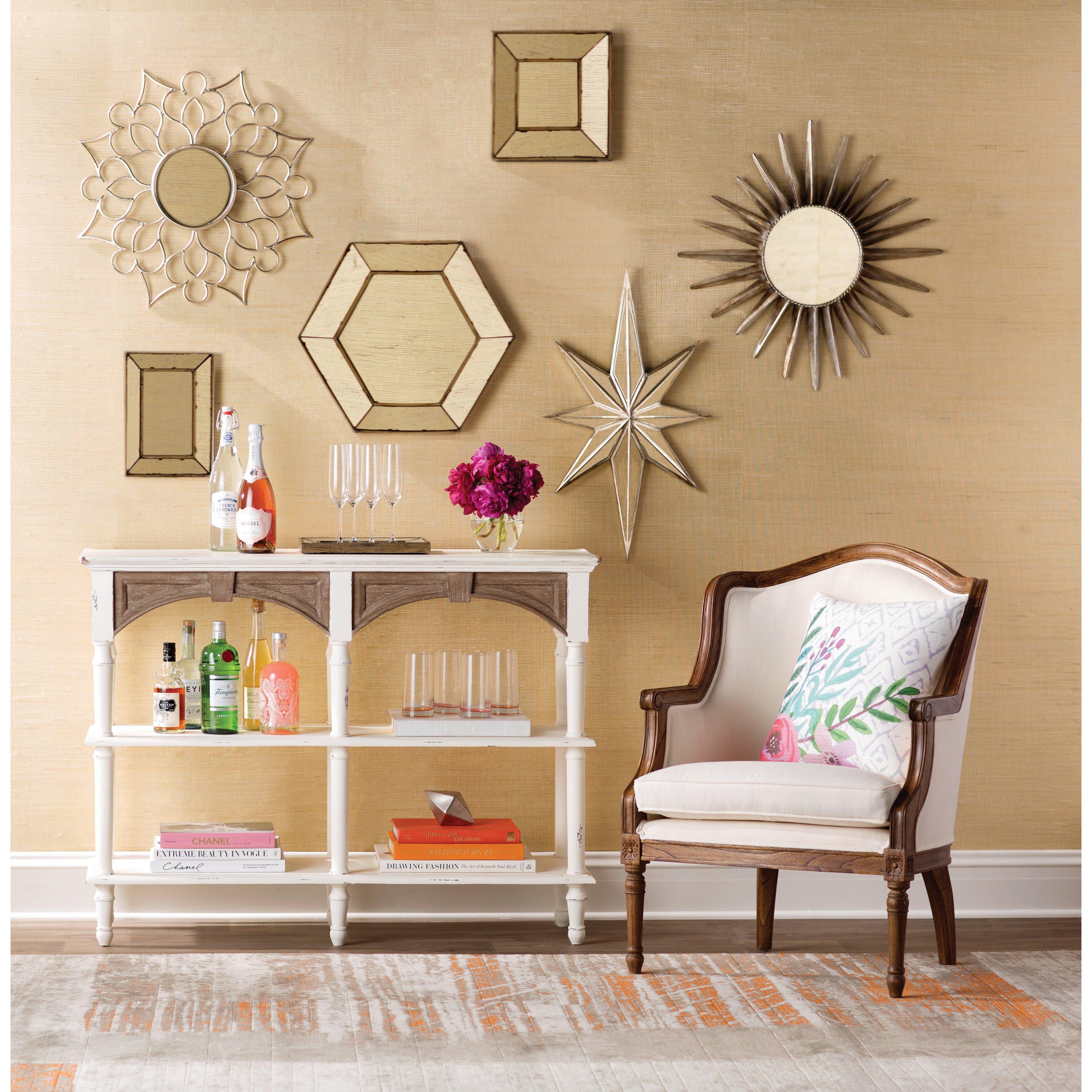 Stratton Home Decor Charlotte Wall Mirror Reviews Wayfair
