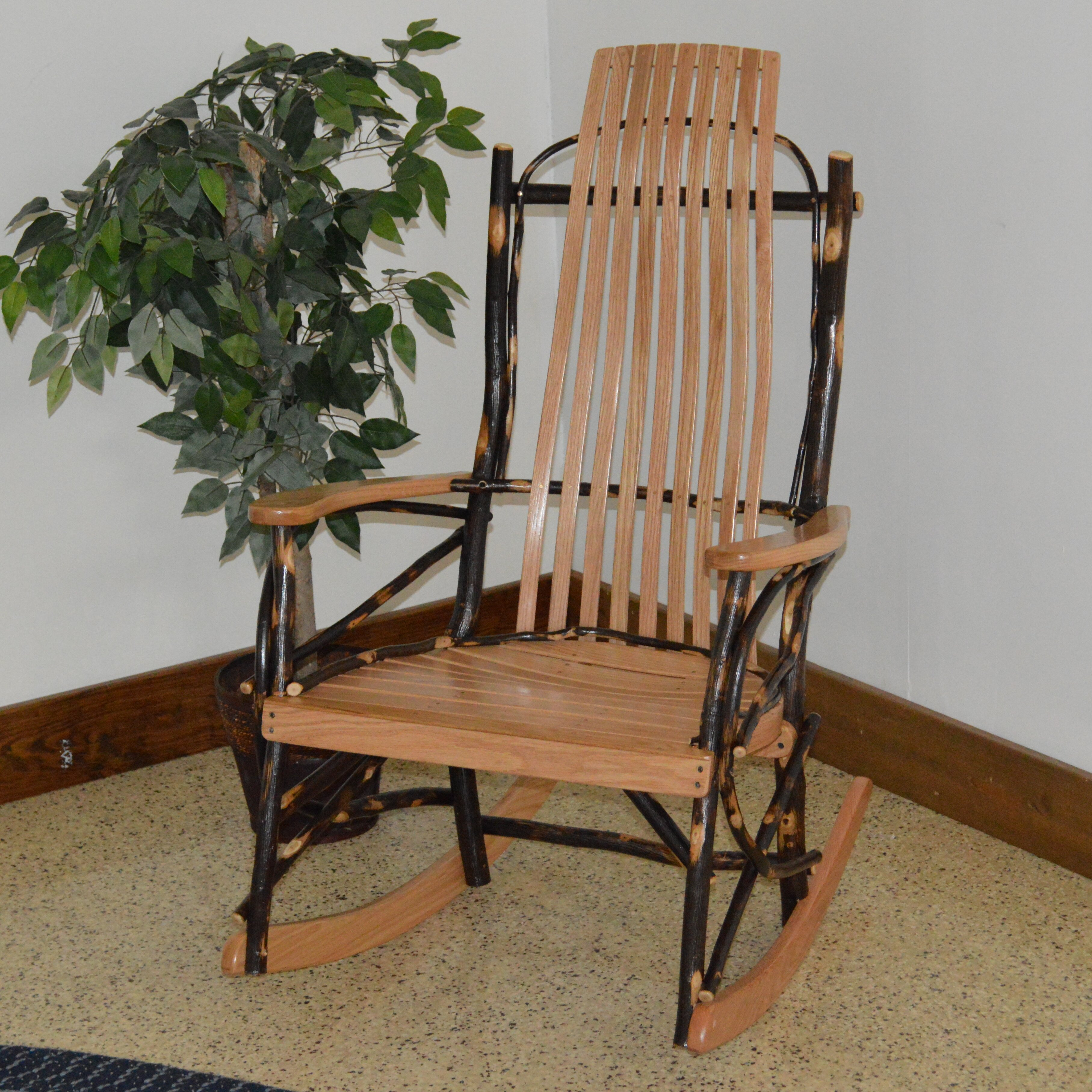Furniture Living Room Furniture ... Wood Rocking Chairs A&L Furniture ...