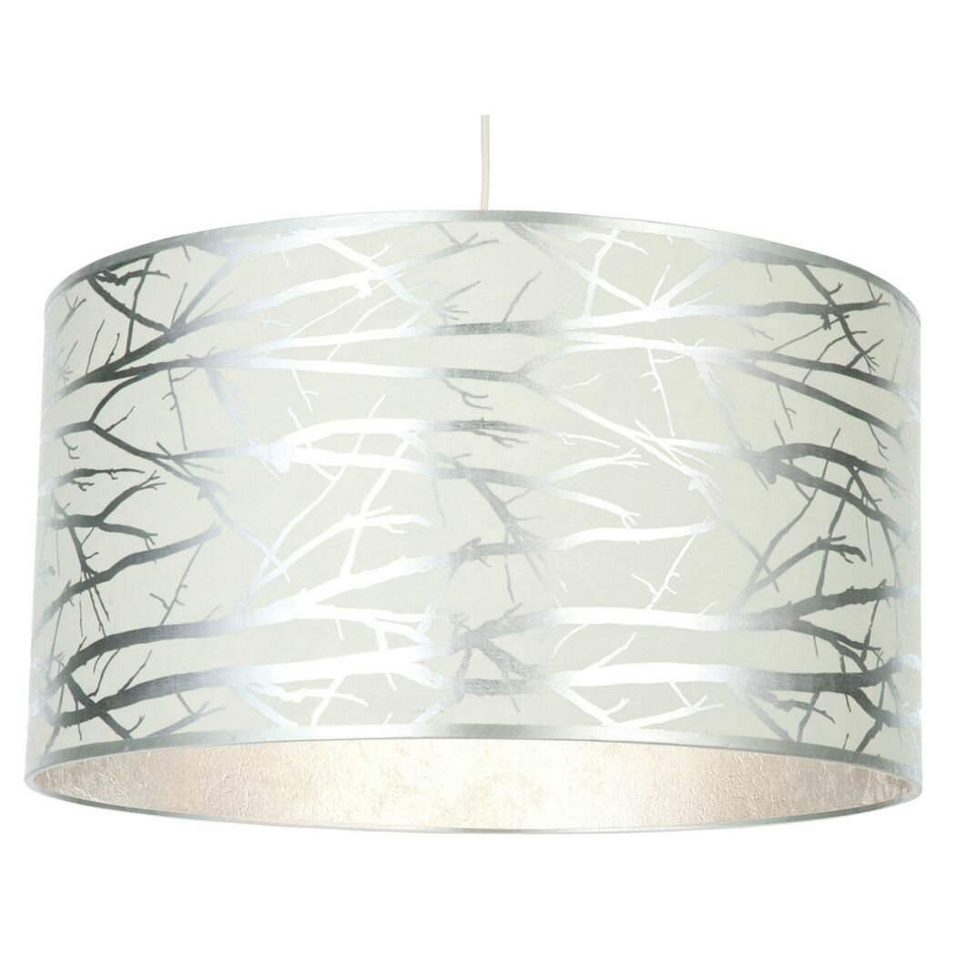 Pagazzi Lighting 50cm Woodlands Drum Pendant Shade