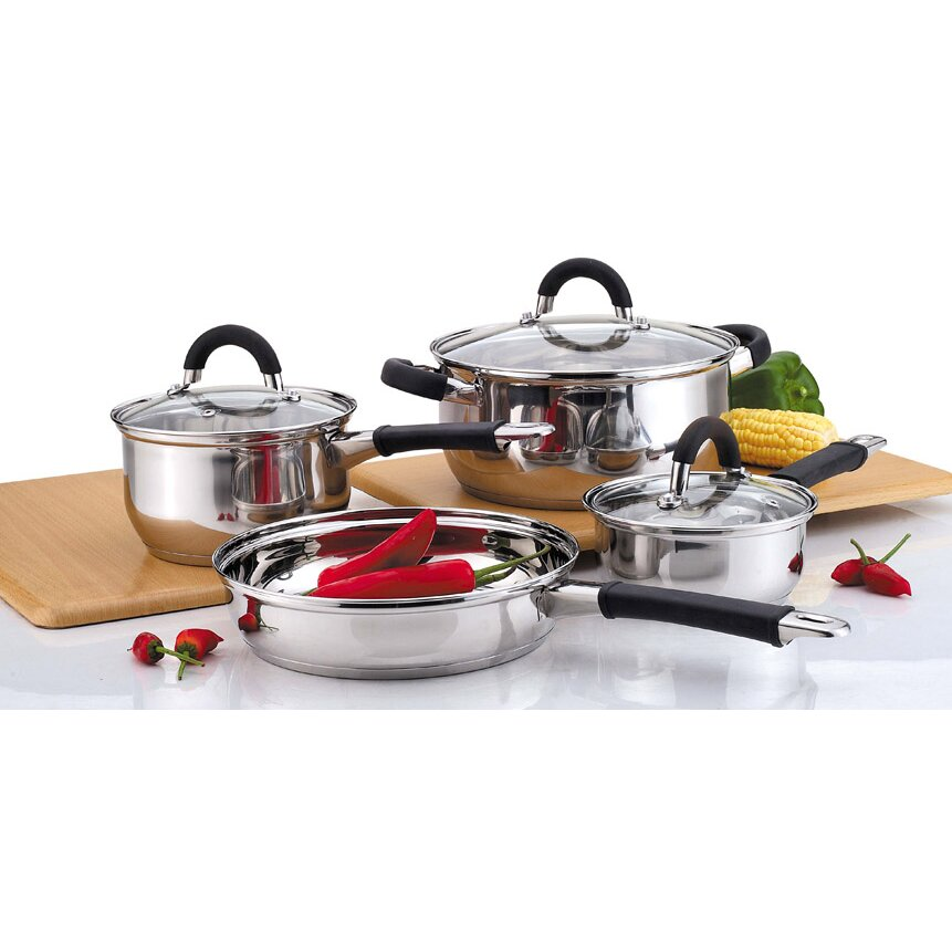 Culinary Edge 7 Piece Cookware Set Reviews Wayfair