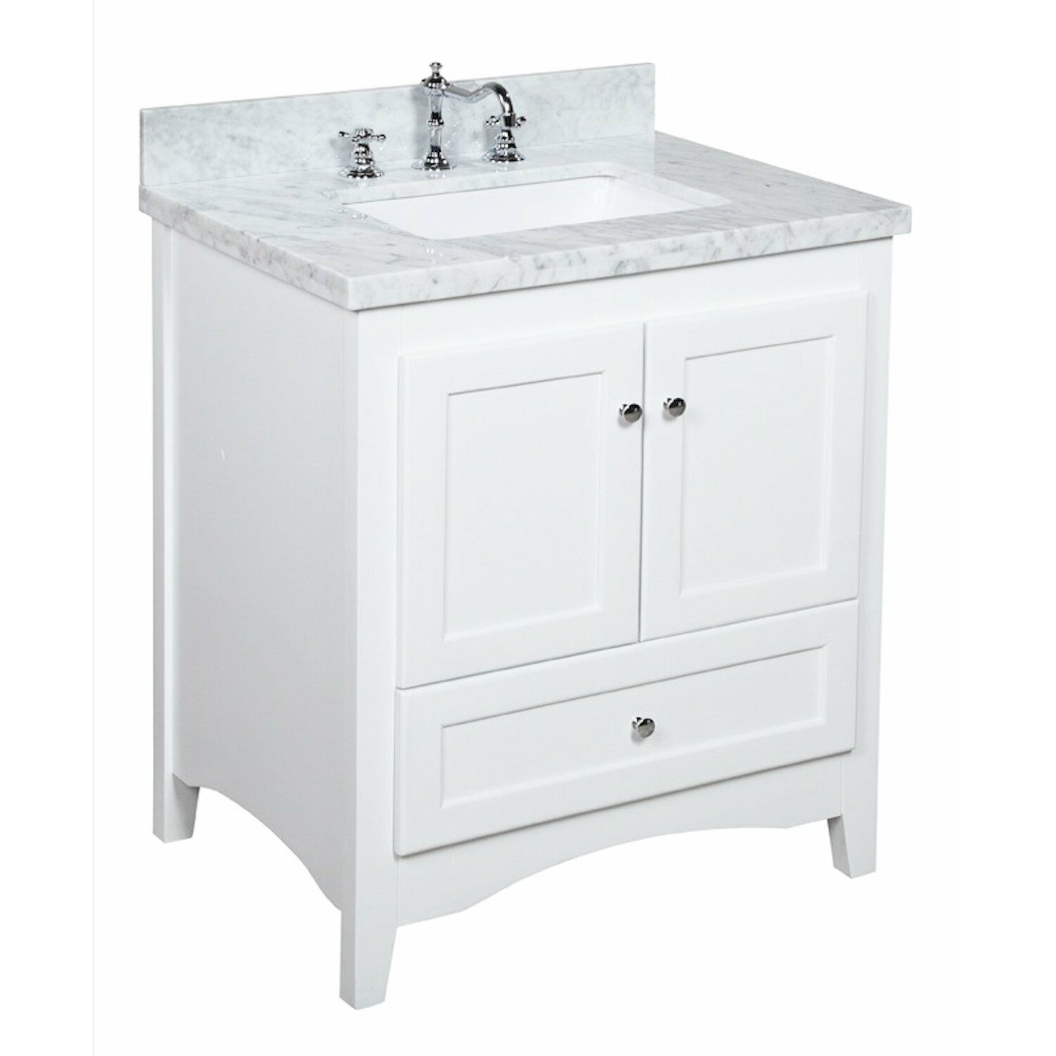 Kbc Abbey 30 Quot Single Bathroom Vanity Set Amp Reviews Wayfair