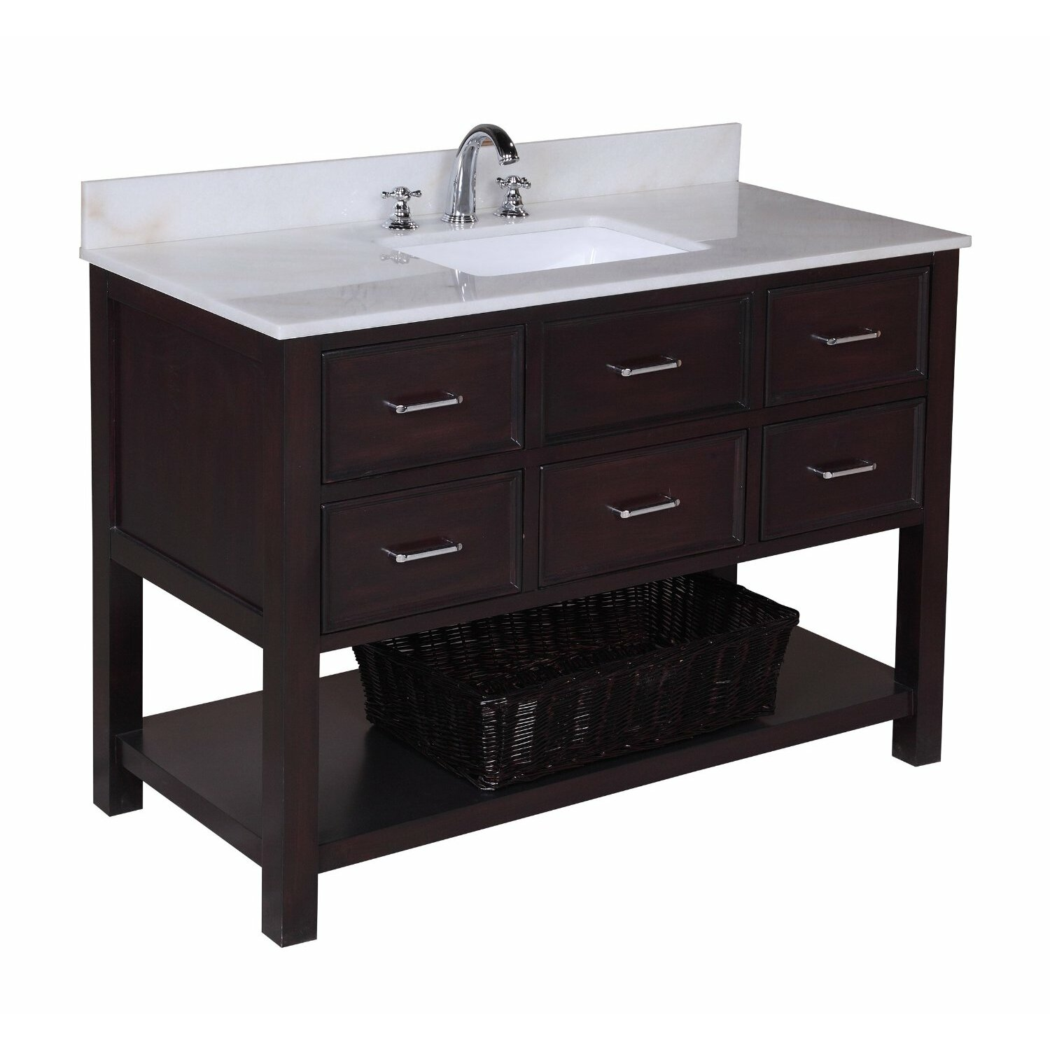 Kbc New Hampshire 48 Single Bathroom Vanity Set Reviews Wayfair Supply