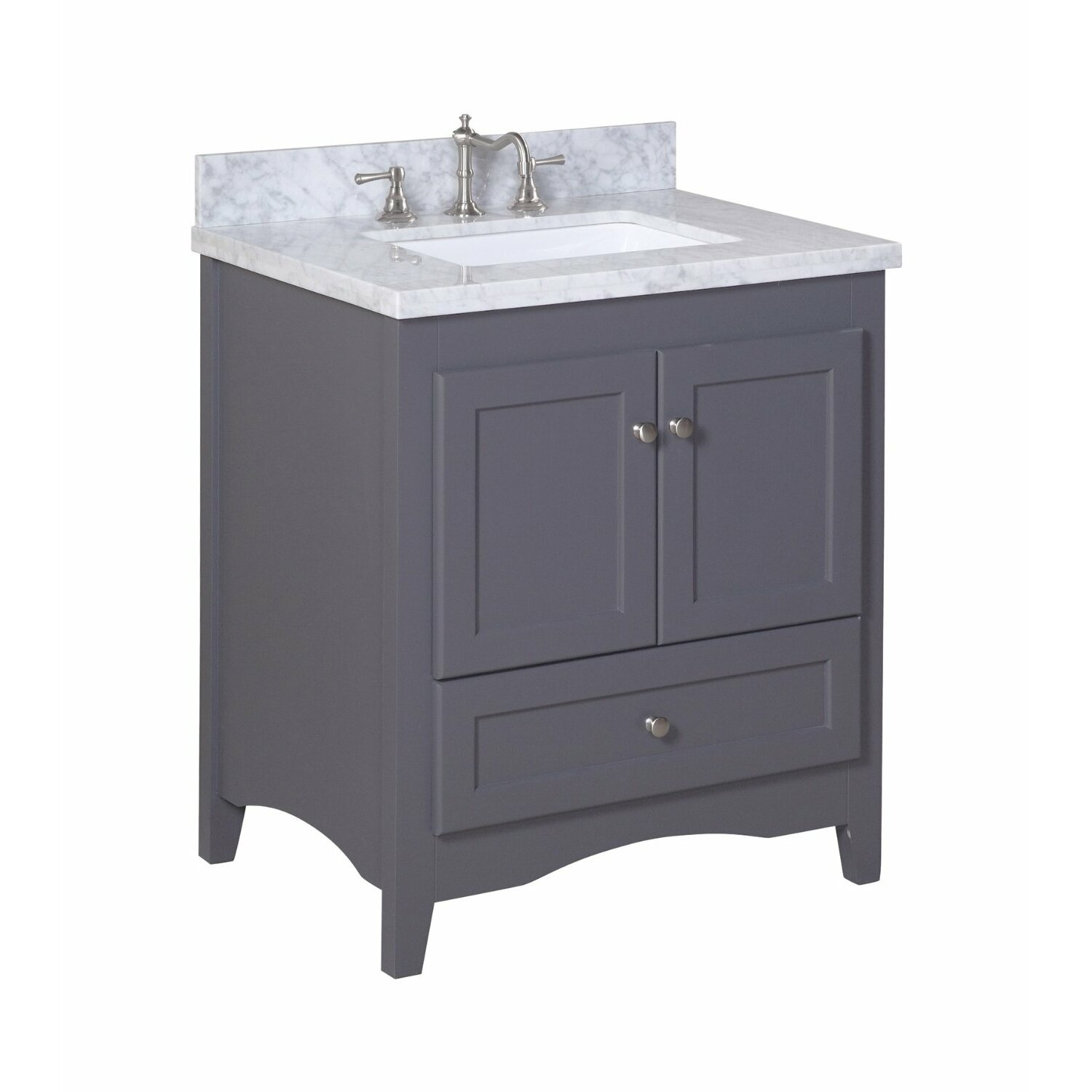 best rated bathroom vanities kbc 30 quot single bathroom vanity set amp reviews wayfair 214