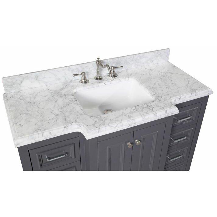 Kbc Versailles 48 Single Bathroom Vanity Set Reviews – Jerusalem House