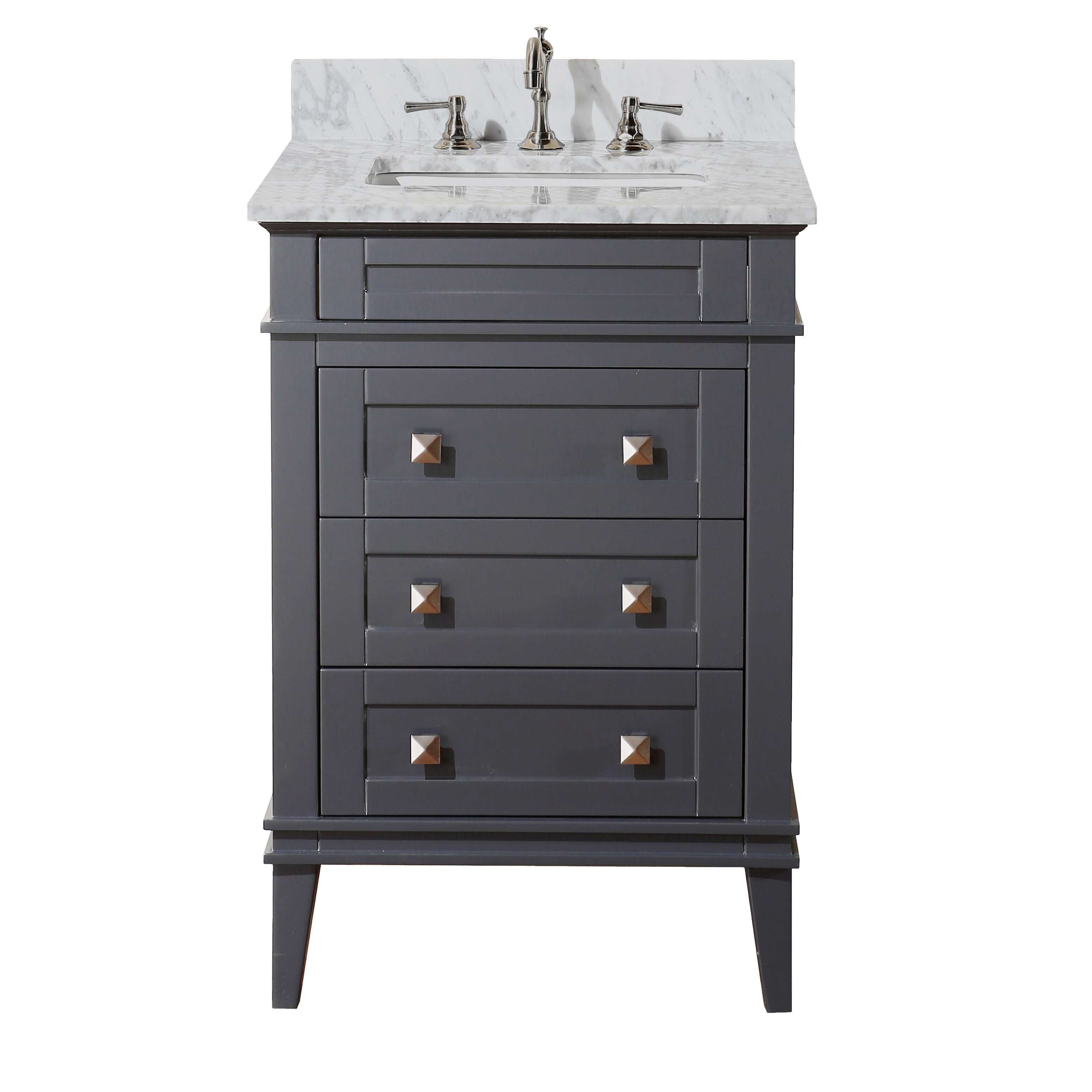 Kbc Eleanor 24 Single Bathroom Vanity Set Reviews Wayfair