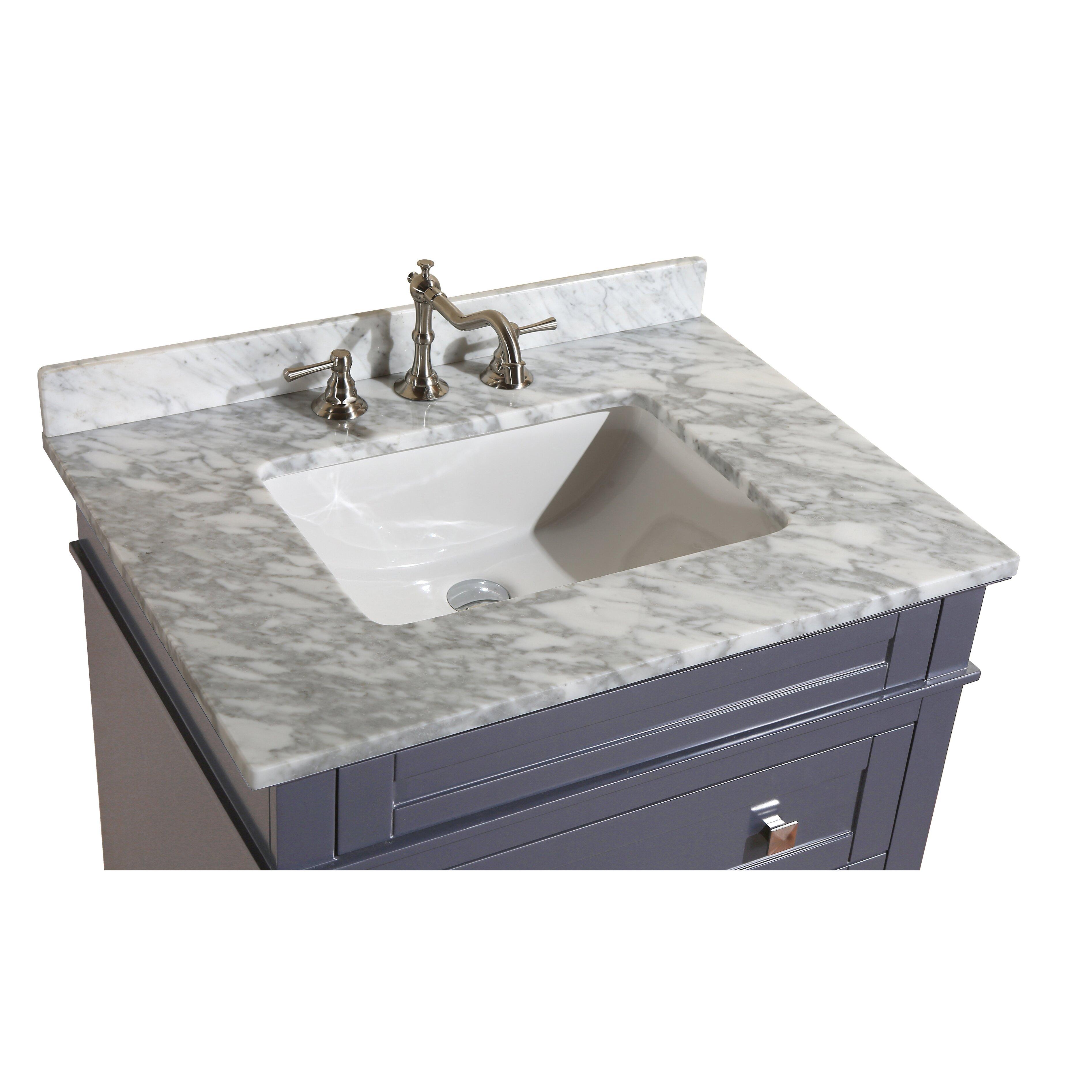 Kbc Eleanor 30 Quot Single Bathroom Vanity Set Amp Reviews Wayfair
