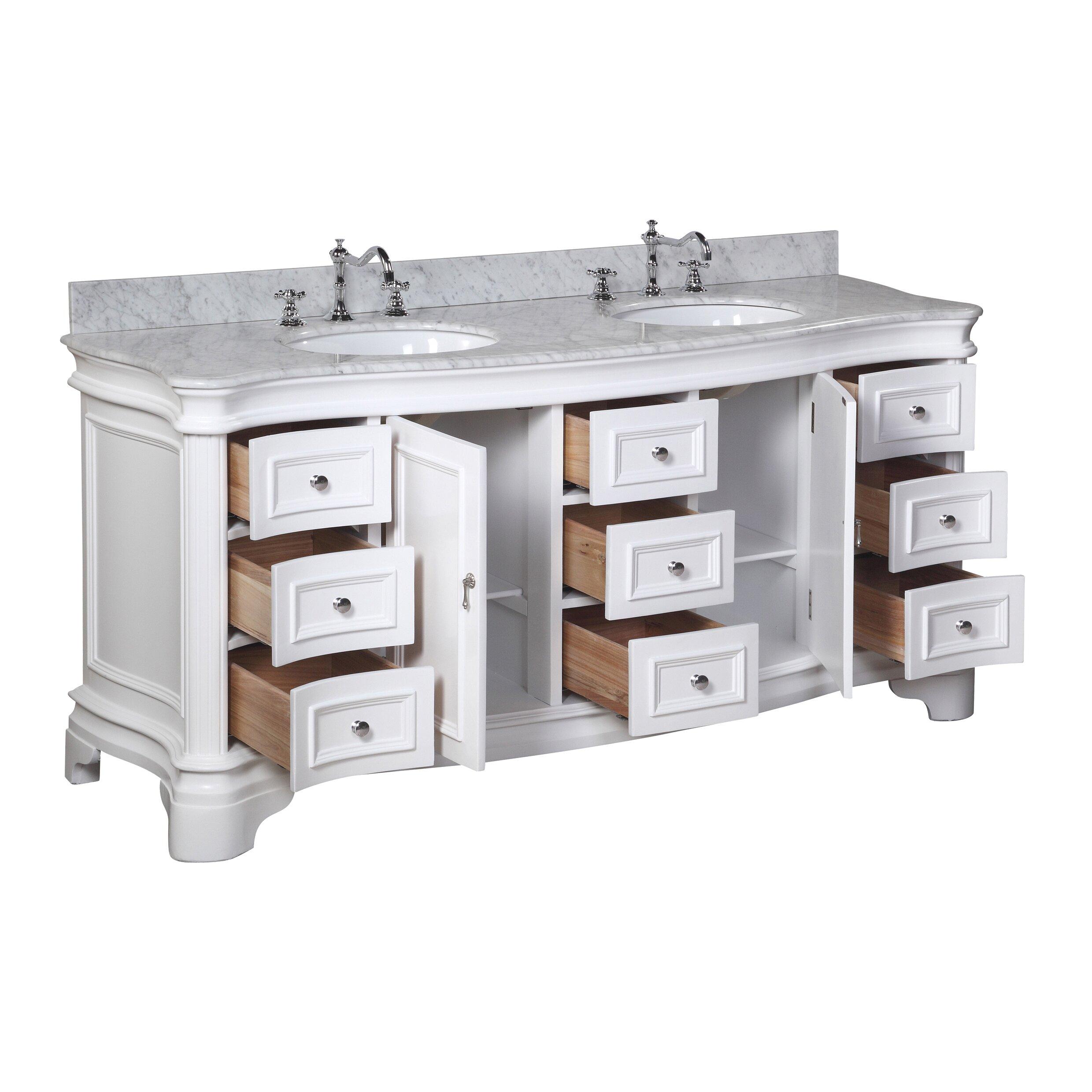 Kbc Katherine 72 Bathroom Vanity Set Reviews Wayfair
