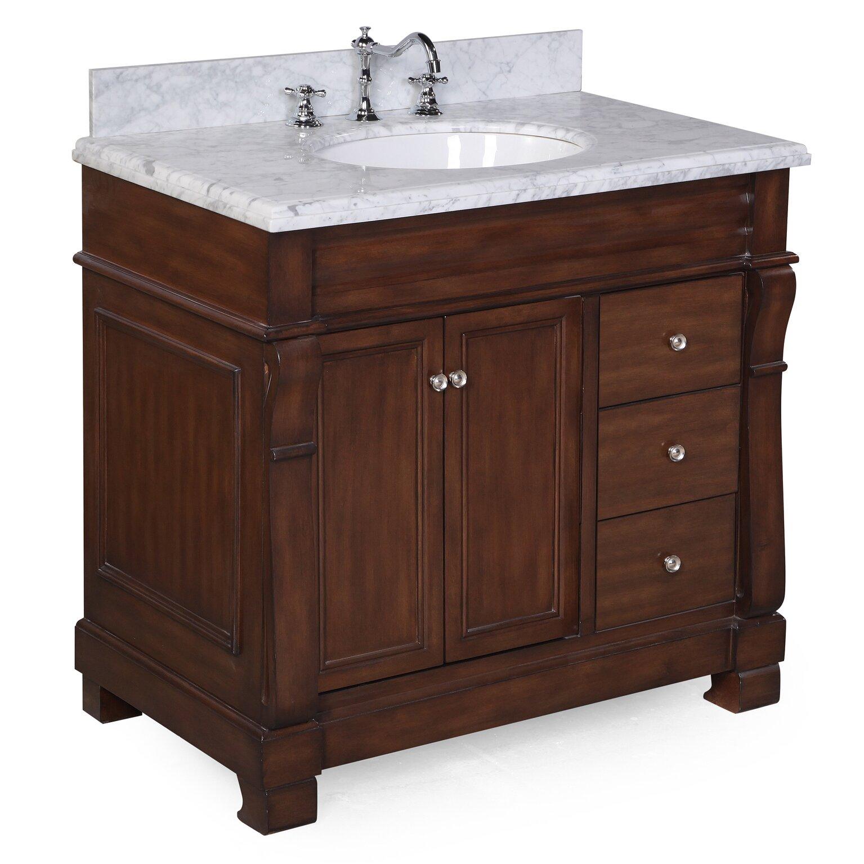 Kbc westminster 36 single bathroom vanity set reviews for Bathroom vanity sets