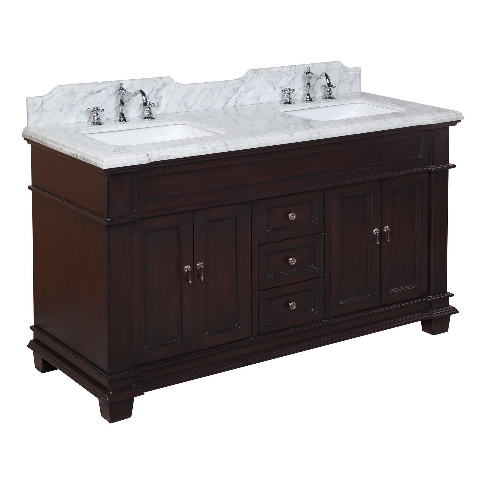 Kbc Elizabeth 60 Double Bathroom Vanity Set Reviews