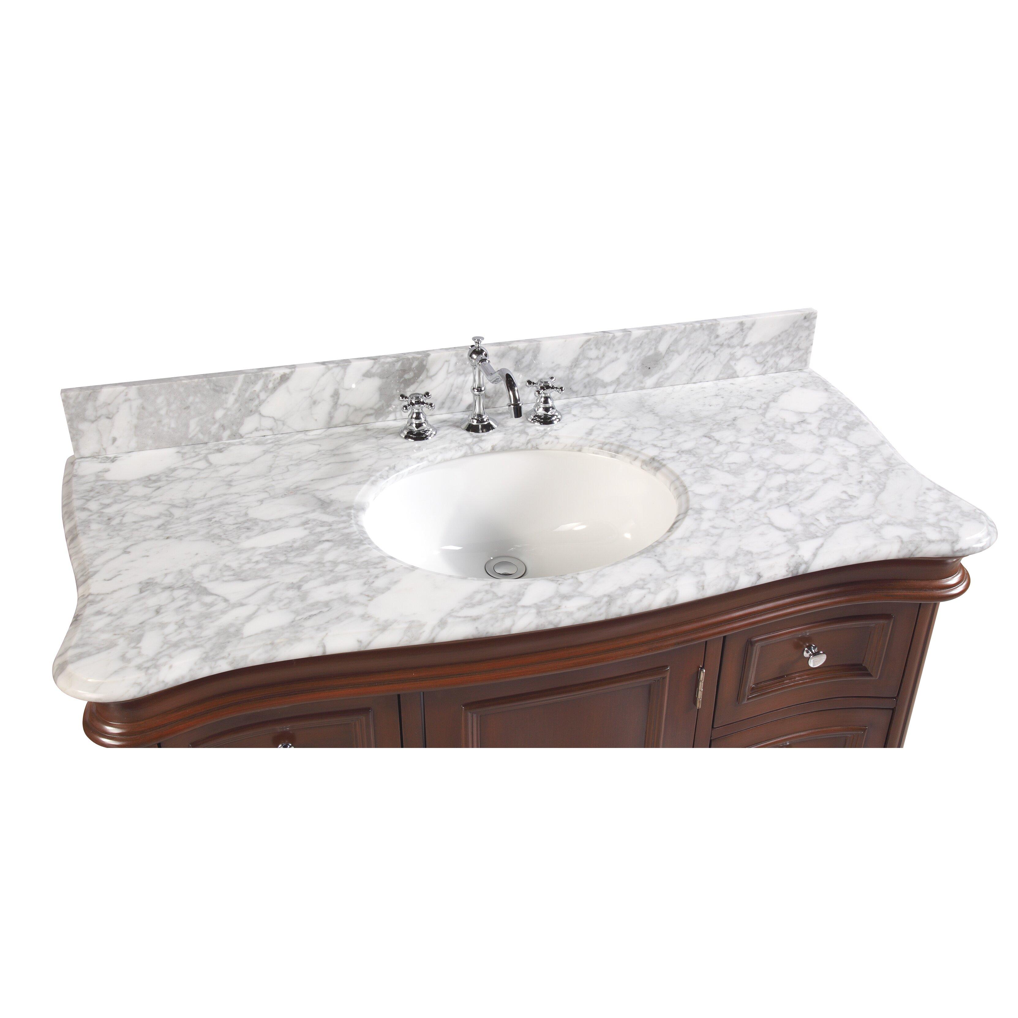 kbc katherine 48 quot single bathroom vanity set reviews
