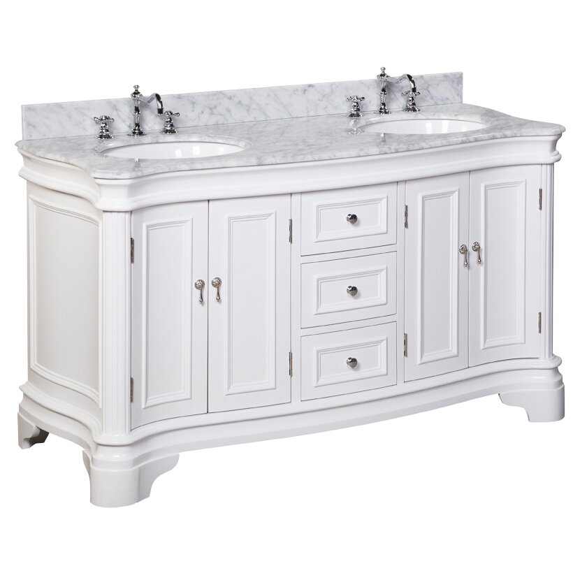 Kbc Katherine 60 Quot Double Bathroom Vanity Set Amp Reviews