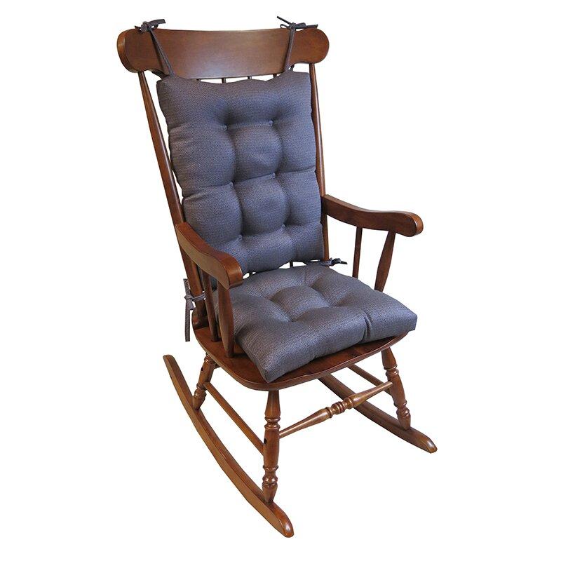 Klear Vu Omega 2 Piece Rocking Chair Cushion & Reviews  Wayfair