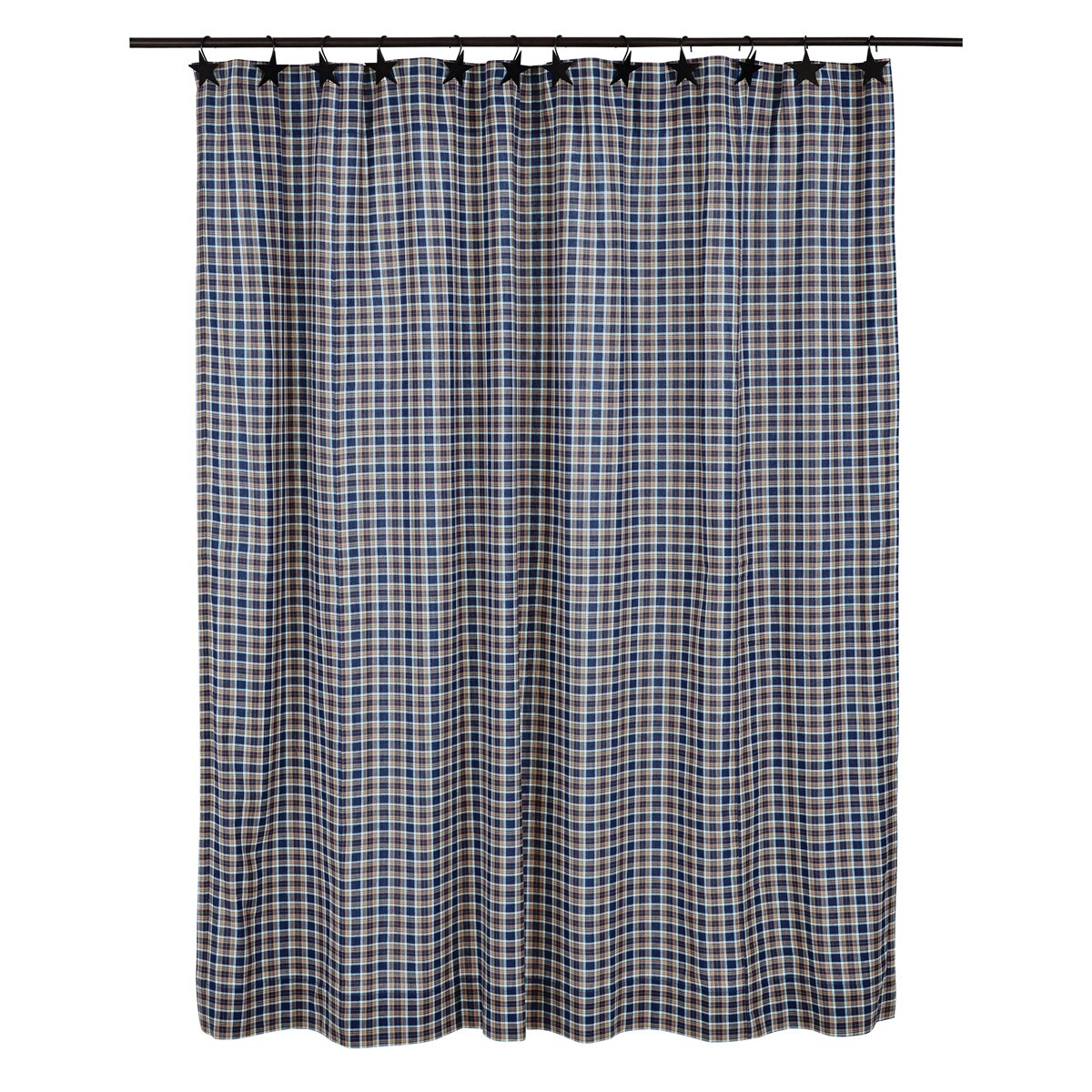 VHC Brands Jenson Cotton Shower Curtain