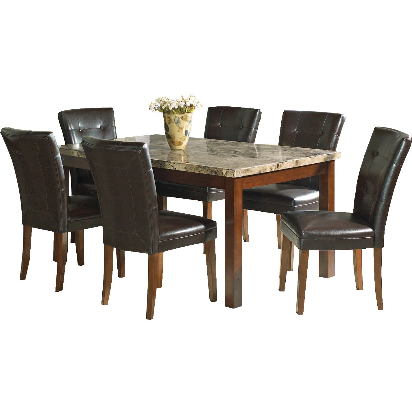 Red Dining Set: Red Barrel Studio Brew Kettle 7 Piece Dining Set & Reviews