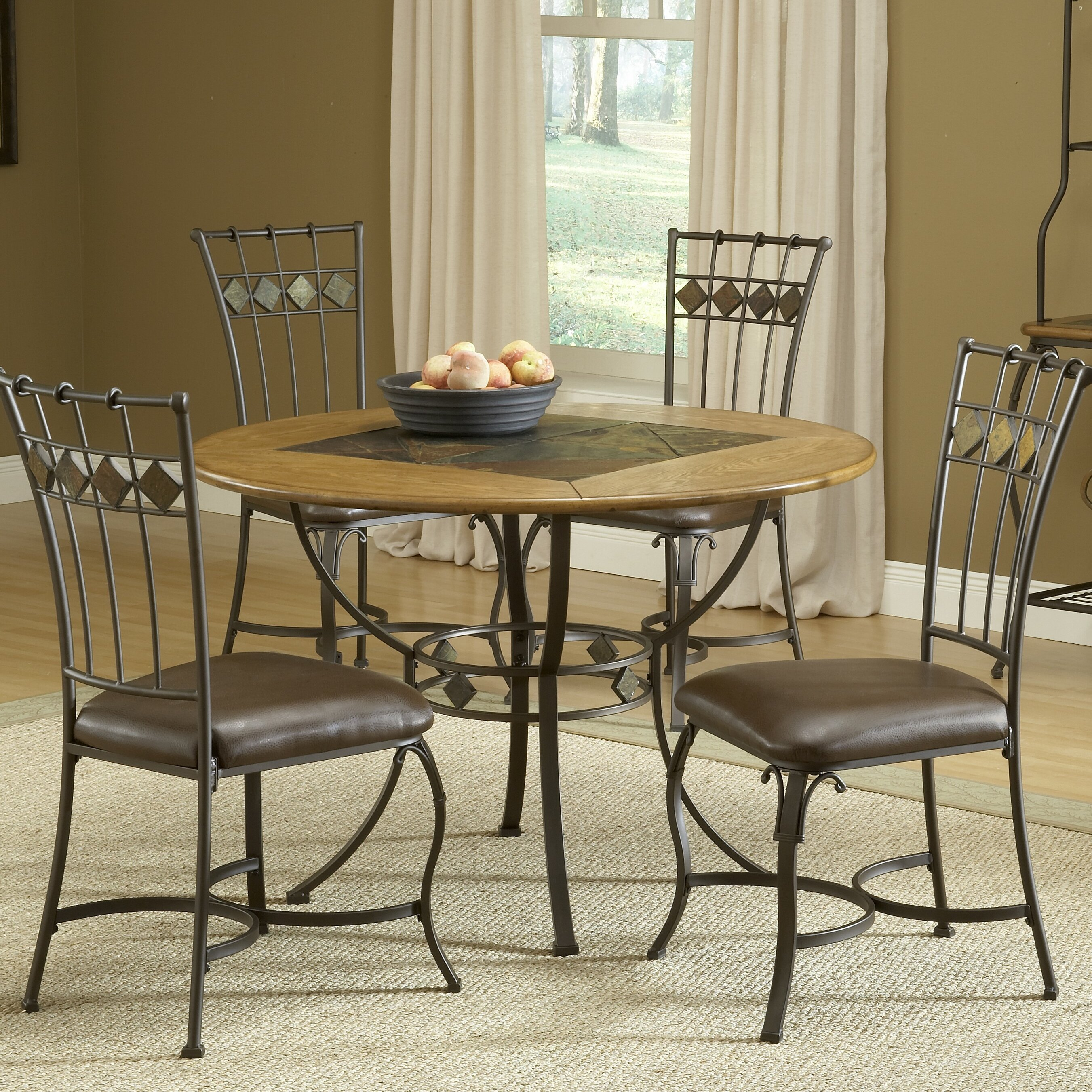 Red Barrel Studio Boyers 5 Piece Dining Set Reviews Wayfair